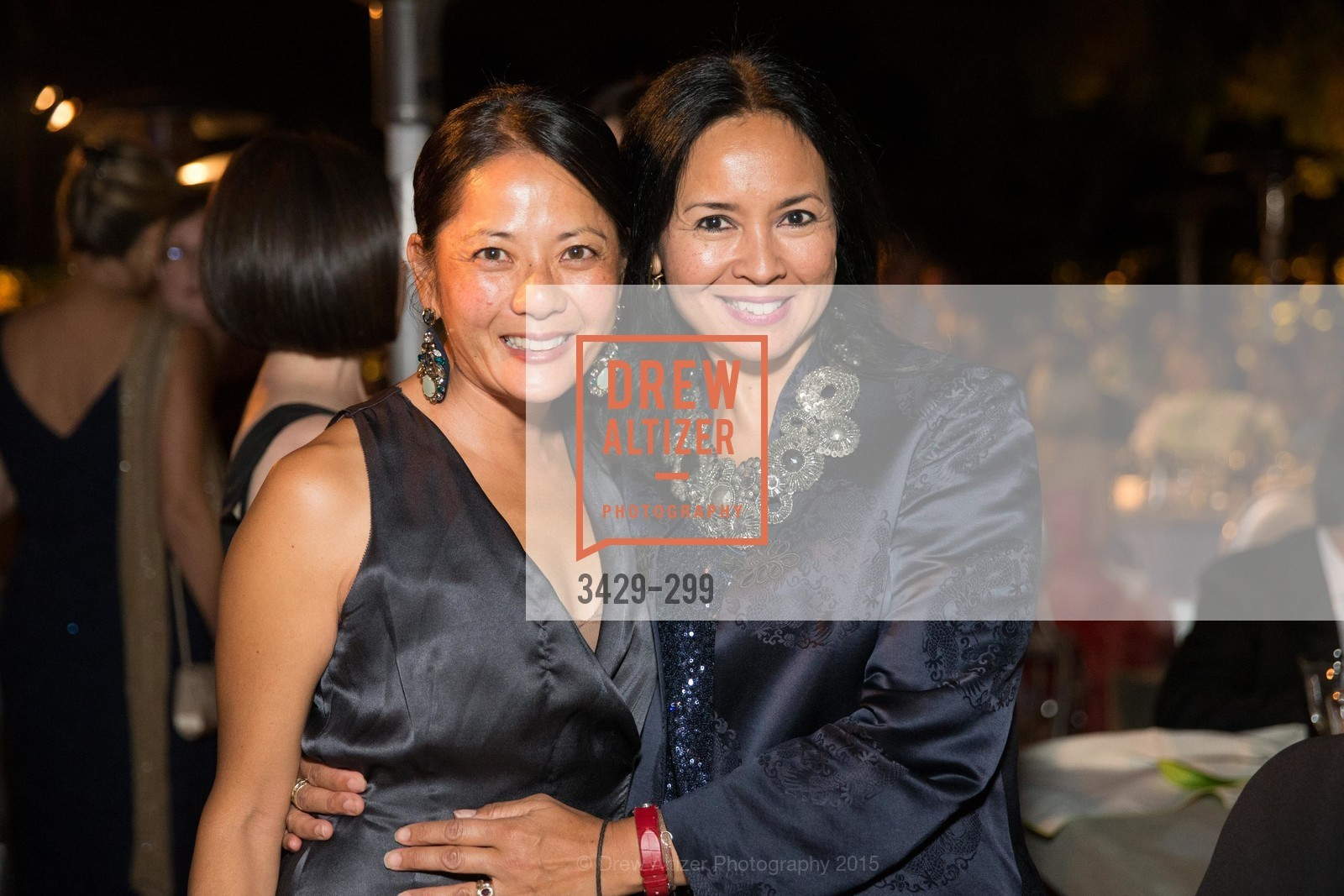Susie Hwang, Wati Grossman, Stanford University's Cantor Arts Center Presents Rodin by Moonlight, Stanford University, September 19th, 2015,Drew Altizer, Drew Altizer Photography, full-service agency, private events, San Francisco photographer, photographer california
