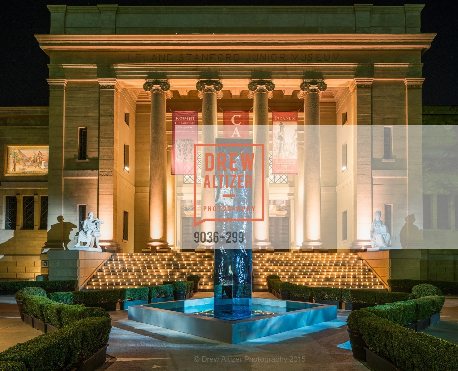 Top Picks, Stanford University's Cantor Arts Center Presents Rodin by Moonlight, September 19th, 2015, Photo,Drew Altizer, Drew Altizer Photography, full-service agency, private events, San Francisco photographer, photographer california