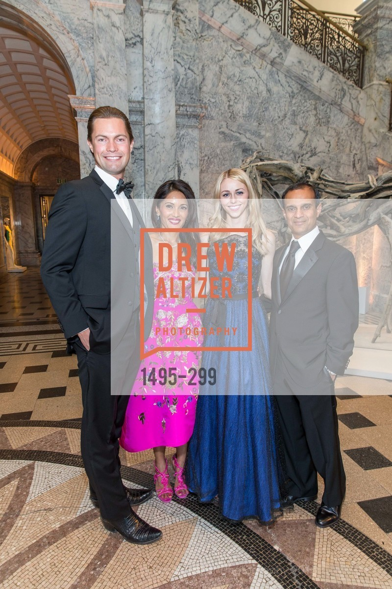 John Fogelsong, Komal Shah, Audrey Proulx, Gaurav Garg, Stanford University's Cantor Arts Center Presents Rodin by Moonlight, Stanford University, September 19th, 2015,Drew Altizer, Drew Altizer Photography, full-service agency, private events, San Francisco photographer, photographer california