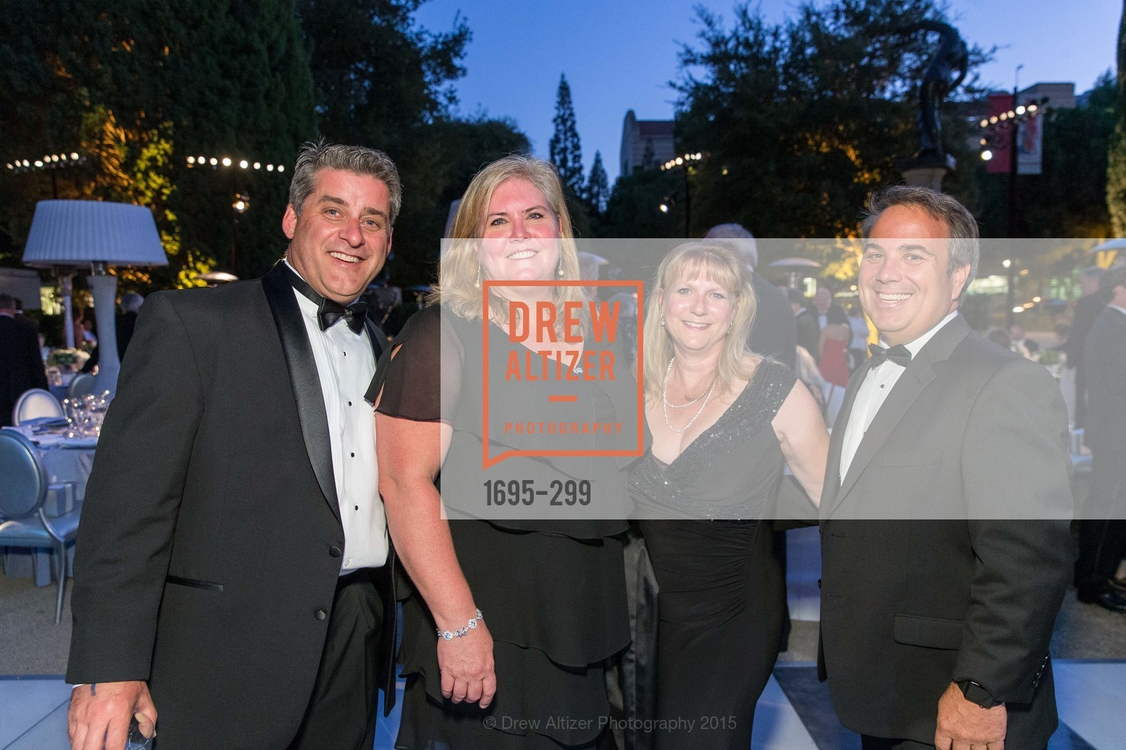 Jeff Frick, Joy Frick, Kelly Kalar, Christian Kalar, Stanford University's Cantor Arts Center Presents Rodin by Moonlight, Stanford University, September 19th, 2015,Drew Altizer, Drew Altizer Photography, full-service agency, private events, San Francisco photographer, photographer california