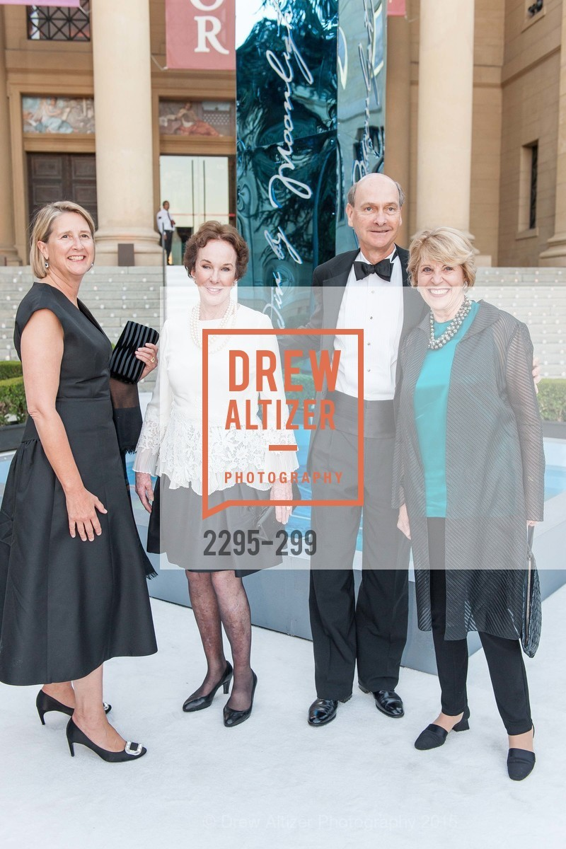Priscilla Geeslin, Joan Corrigan, Keith Geeslin, Dagmar Dolby, Stanford University's Cantor Arts Center Presents Rodin by Moonlight, Stanford University, September 19th, 2015,Drew Altizer, Drew Altizer Photography, full-service agency, private events, San Francisco photographer, photographer california
