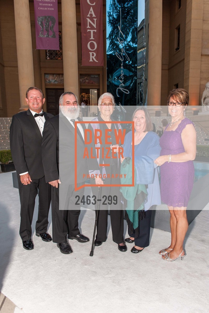 Steve Schultz, Roger Berry, Ellen Uhrbrock, Kate Schultz, Carol Berry, Stanford University's Cantor Arts Center Presents Rodin by Moonlight, Stanford University, September 19th, 2015,Drew Altizer, Drew Altizer Photography, full-service agency, private events, San Francisco photographer, photographer california