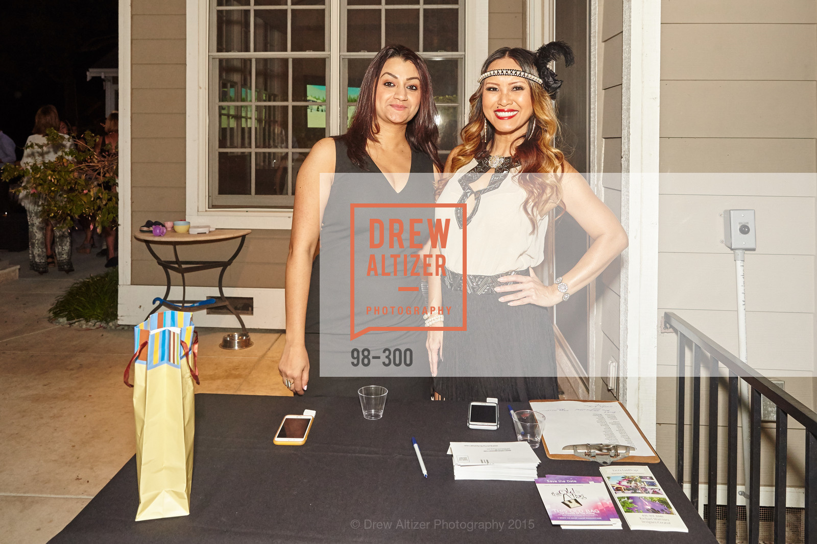 Aditi Sharma, Katherine Wolstenholm, Breast Cancer Awareness Fund Presents This Old Bag Silicon Valley Preview Party, Private Residence, September 19th, 2015,Drew Altizer, Drew Altizer Photography, full-service agency, private events, San Francisco photographer, photographer california
