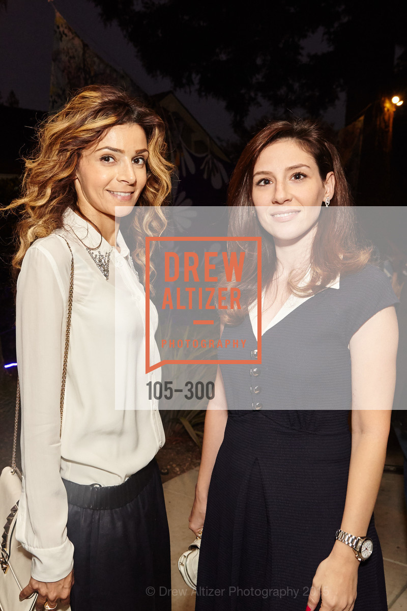 Neda Hindeiyeh Maya Labban, Breast Cancer Awareness Fund Presents This Old Bag Silicon Valley Preview Party, Private Residence, September 19th, 2015,Drew Altizer, Drew Altizer Photography, full-service agency, private events, San Francisco photographer, photographer california