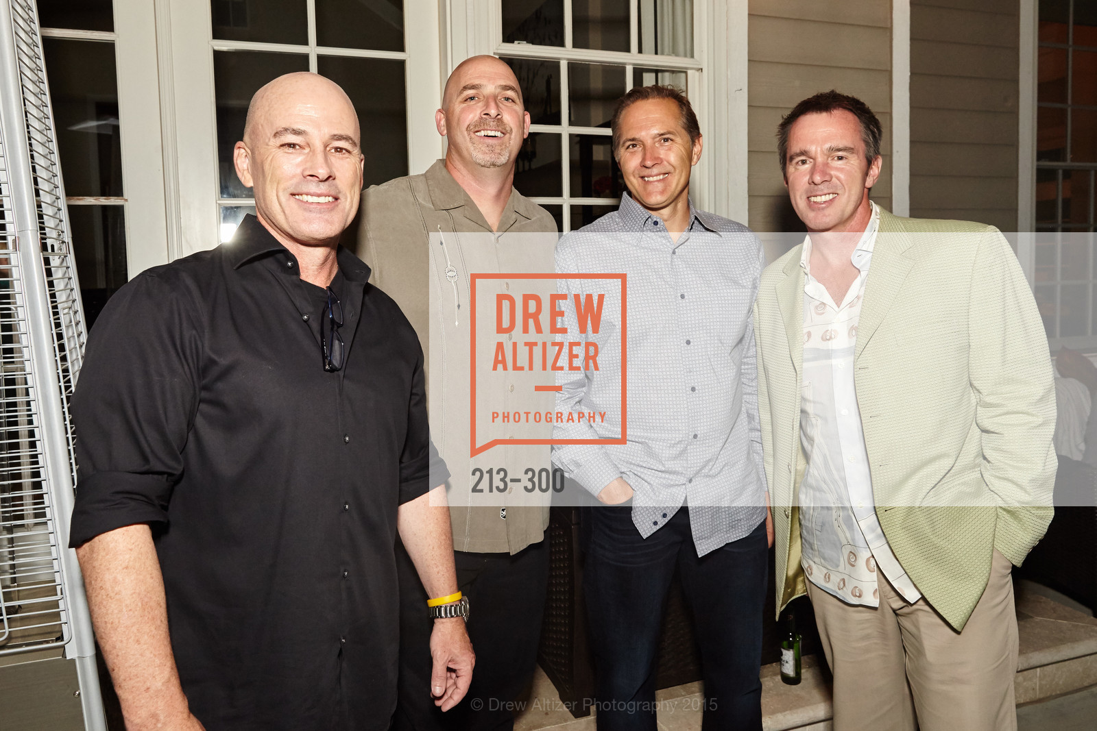 John Kelly, Dave Schwartz, Jason Kerr, Breast Cancer Awareness Fund Presents This Old Bag Silicon Valley Preview Party, Private Residence, September 19th, 2015,Drew Altizer, Drew Altizer Photography, full-service event agency, private events, San Francisco photographer, photographer California
