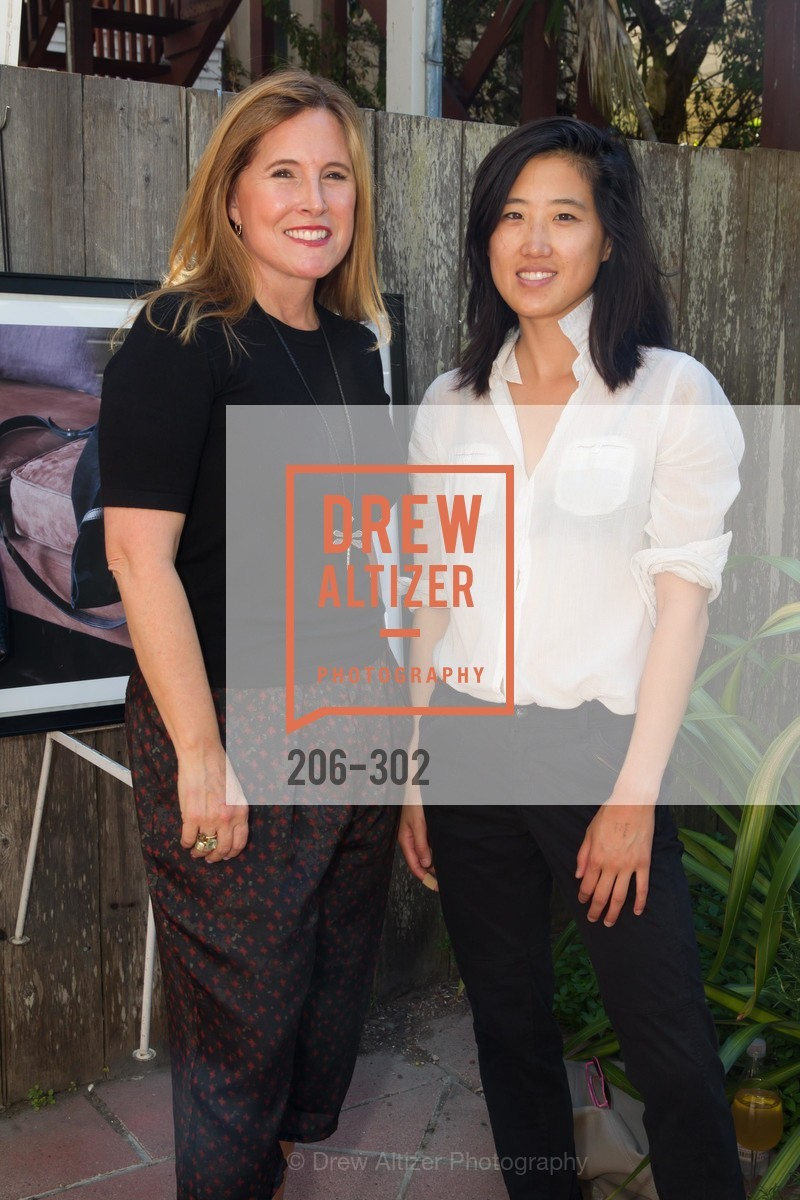 Lisa Rissetto, Elena Wong, Rissetto launch honoring Jennifer Raiser & Sukey Forbes, Blanc. 3615 Sacramento SF, September 21st, 2015