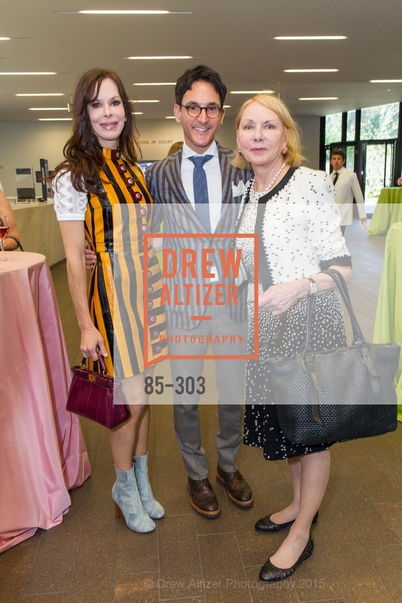 Stephanie Marver, James Krohn, Arlene Sullivan, Fine Arts Museums Annual Donors' Luncheon, de Young Museum. 3010 24th St, September 21st, 2015,Drew Altizer, Drew Altizer Photography, full-service agency, private events, San Francisco photographer, photographer california