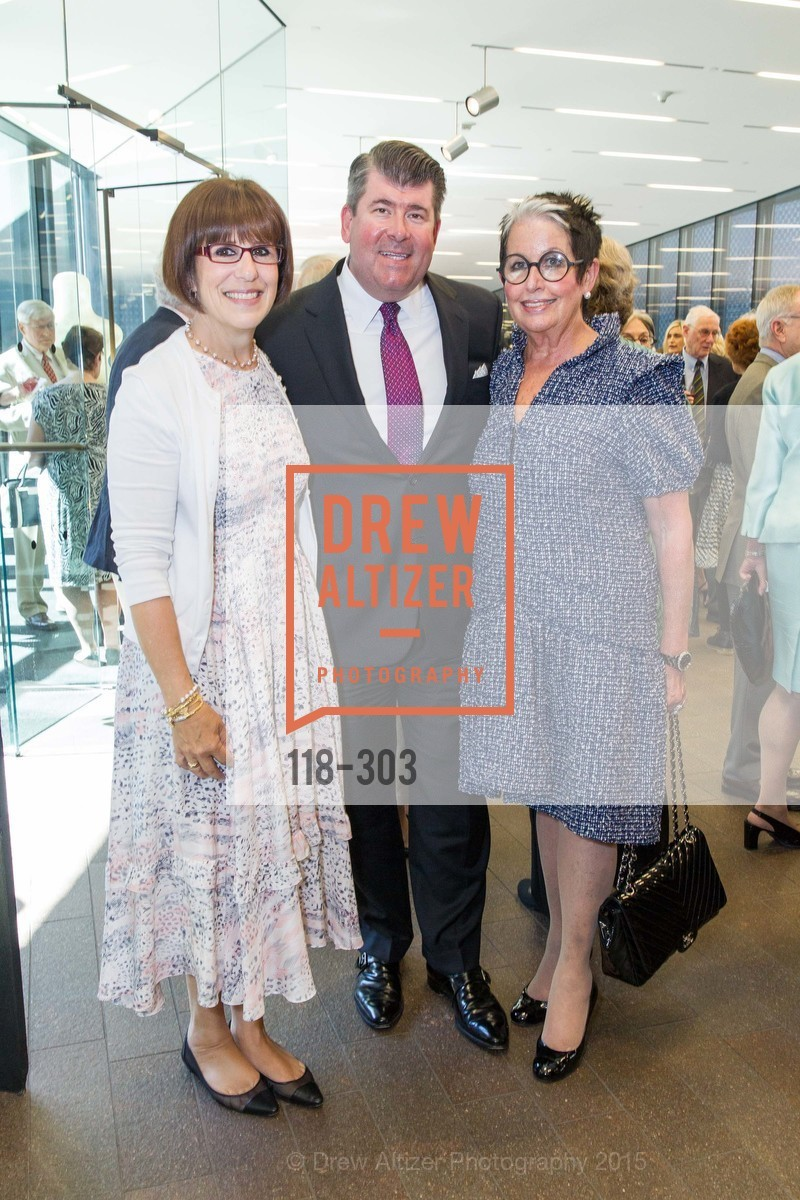 Terri Mino, Alan Morrell, Karen Kubin, Fine Arts Museums Annual Donors' Luncheon, de Young Museum. 3010 24th St, September 21st, 2015,Drew Altizer, Drew Altizer Photography, full-service agency, private events, San Francisco photographer, photographer california