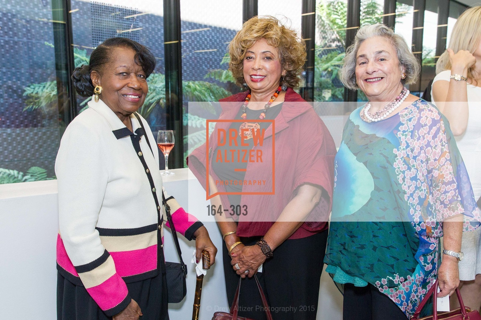 Lorene Walker, Carolyn Olive, Louise Sampson, Fine Arts Museums Annual Donors' Luncheon, de Young Museum. 3010 24th St, September 21st, 2015,Drew Altizer, Drew Altizer Photography, full-service agency, private events, San Francisco photographer, photographer california
