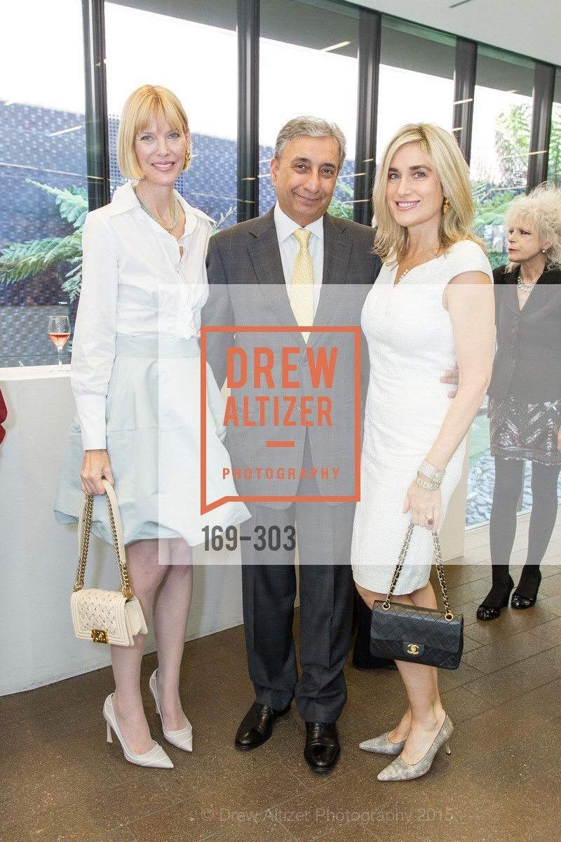 Karen Richardson, Rod Singh, Renata Anderson, Fine Arts Museums Annual Donors' Luncheon, de Young Museum. 3010 24th St, September 21st, 2015,Drew Altizer, Drew Altizer Photography, full-service agency, private events, San Francisco photographer, photographer california