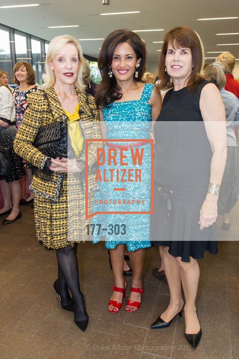 Barbara Brown, Komal Shah, Pam Earing, Fine Arts Museums Annual Donors' Luncheon, de Young Museum. 3010 24th St, September 21st, 2015,Drew Altizer, Drew Altizer Photography, full-service agency, private events, San Francisco photographer, photographer california