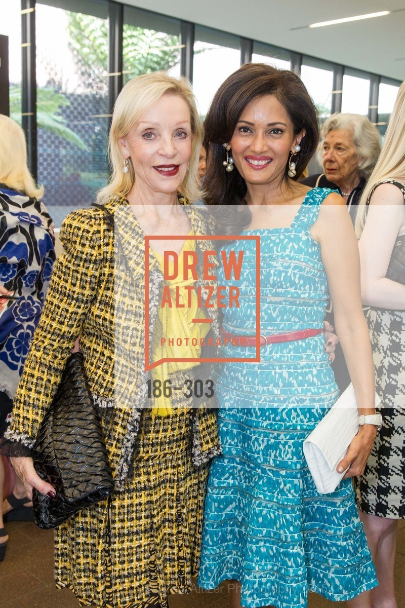 Barbara Brown, Komal Shah, Fine Arts Museums Annual Donors' Luncheon, de Young Museum. 3010 24th St, September 21st, 2015,Drew Altizer, Drew Altizer Photography, full-service agency, private events, San Francisco photographer, photographer california