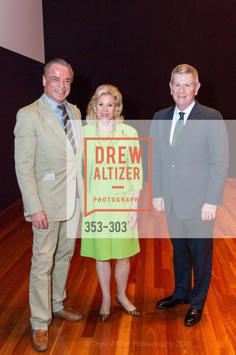 Boaz Mazor, Dede Wilsey, Richard Benefield, Fine Arts Museums Annual Donors' Luncheon, de Young Museum. 3010 24th St, September 21st, 2015,Drew Altizer, Drew Altizer Photography, full-service agency, private events, San Francisco photographer, photographer california