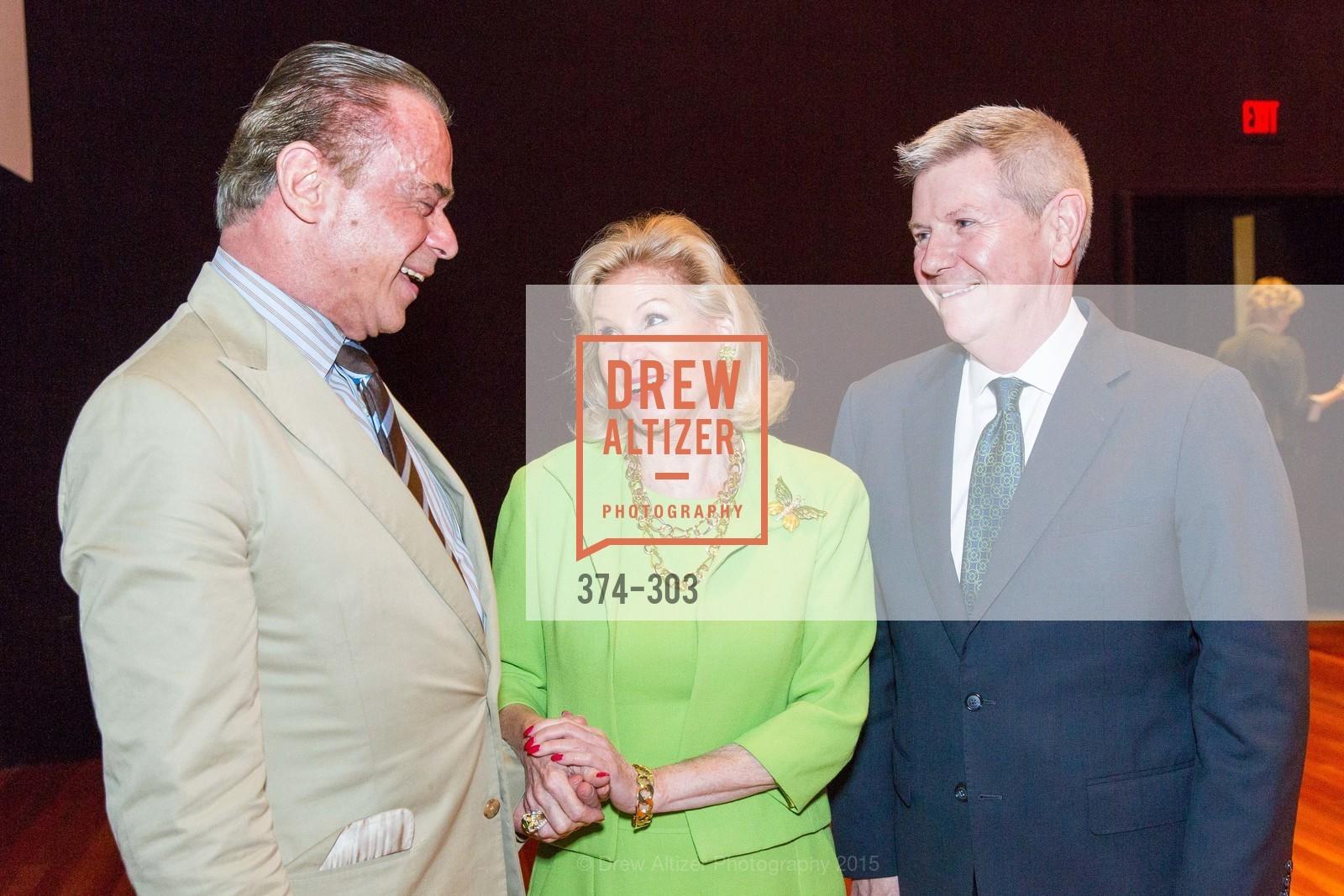 Boaz Mazor, Dede Wilsey, Richard Benefield, Photo #374-303