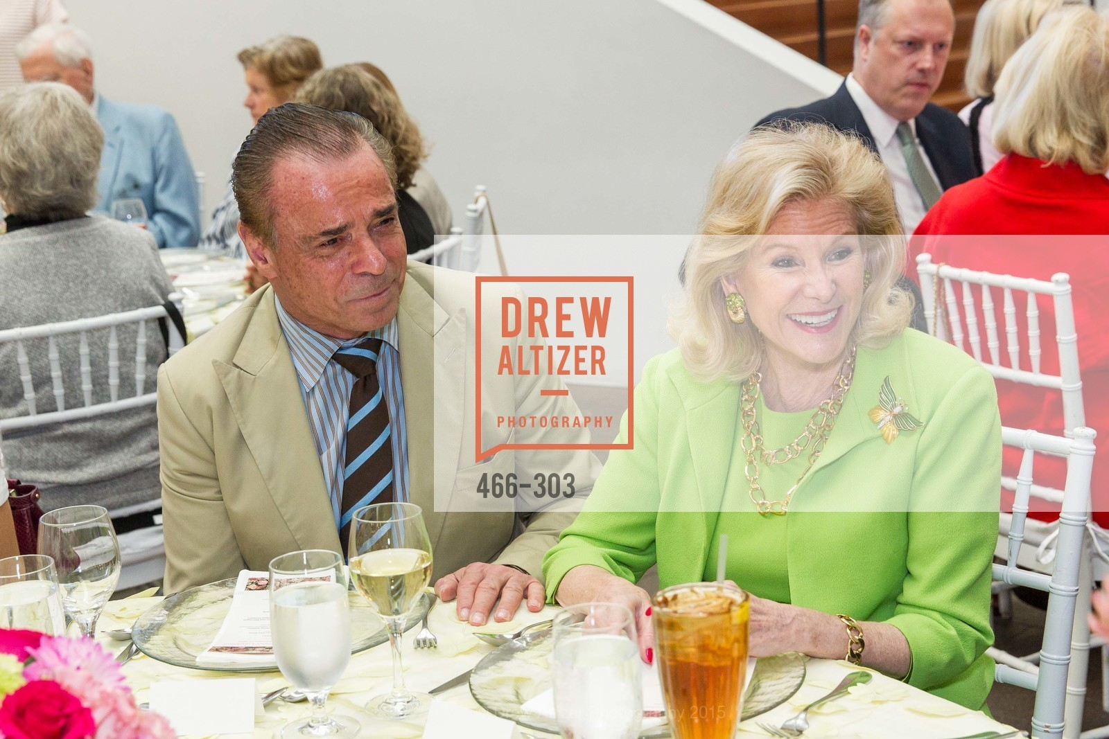 Boaz Mazor, Dede Wilsey, Fine Arts Museums Annual Donors' Luncheon, de Young Museum. 3010 24th St, September 21st, 2015,Drew Altizer, Drew Altizer Photography, full-service agency, private events, San Francisco photographer, photographer california