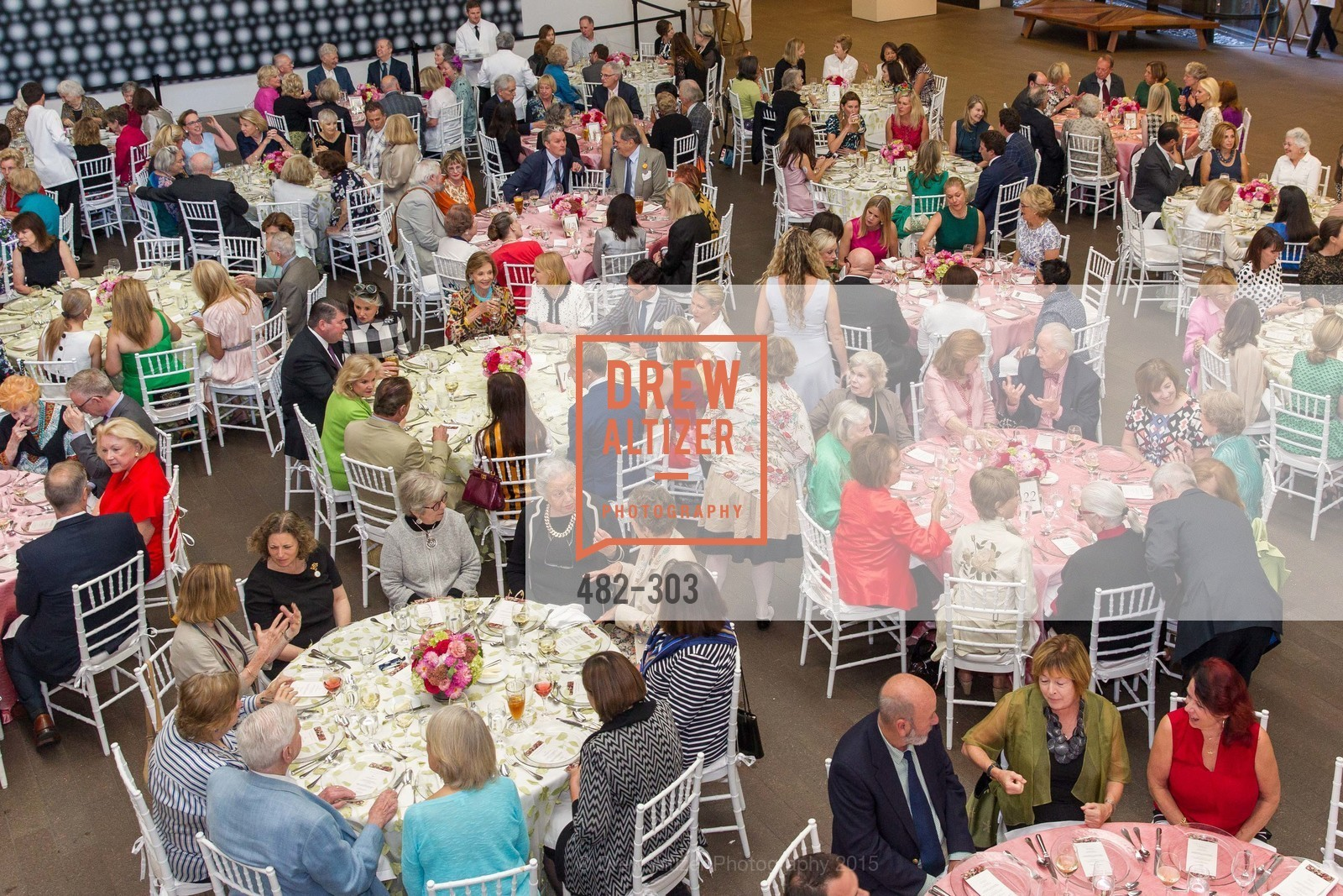 Atmosphere, Fine Arts Museums Annual Donors' Luncheon, de Young Museum. 3010 24th St, September 21st, 2015,Drew Altizer, Drew Altizer Photography, full-service event agency, private events, San Francisco photographer, photographer California