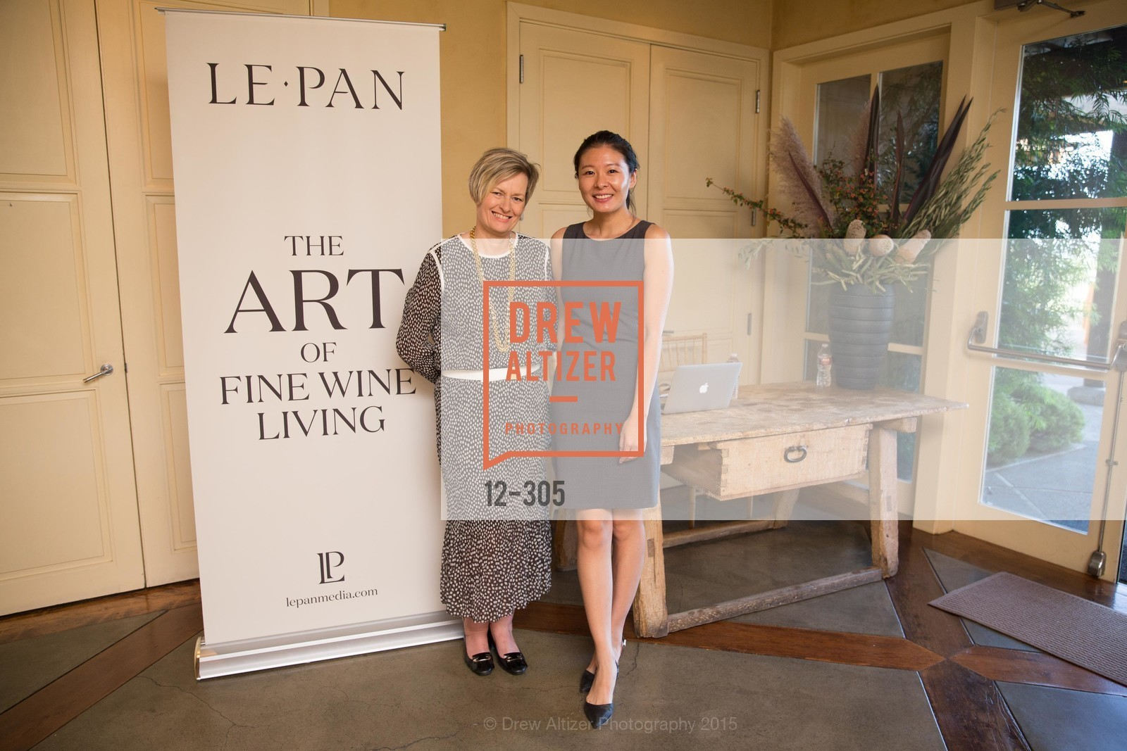 Jill Criptree, Ann An, LE PAN Napa Valley Launch Cocktail Party, Auberge dr Soliel, September 22nd, 2015