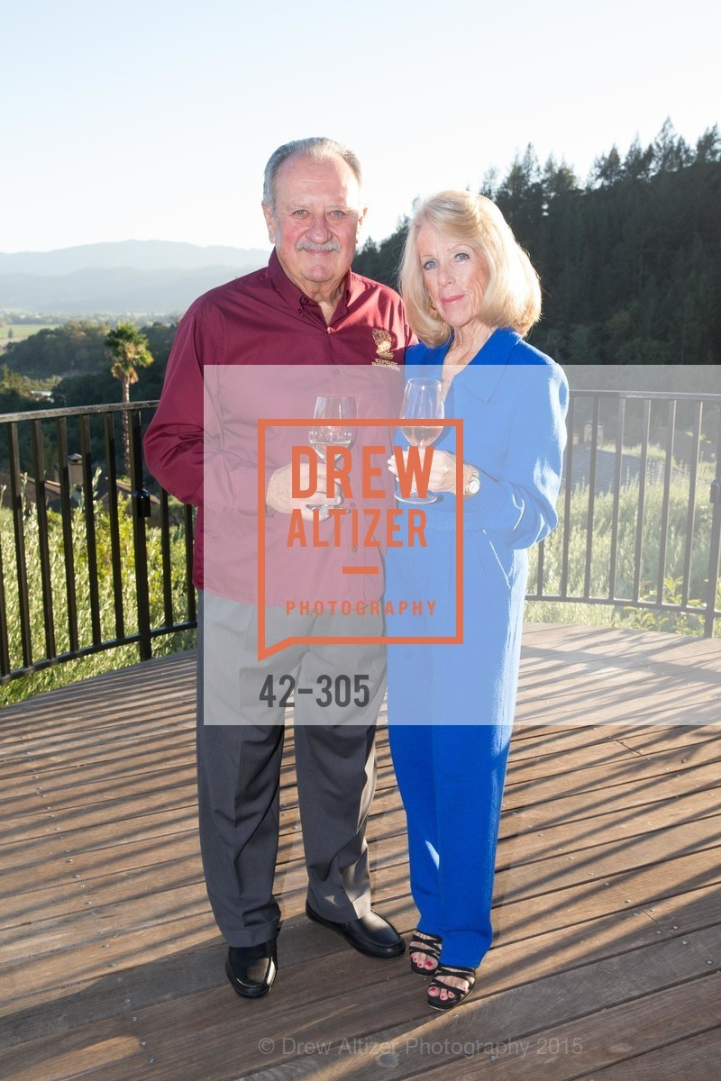 Lou Kapcsandy, Bobbie Kapcsandy, LE PAN Napa Valley Launch Cocktail Party, Auberge dr Soliel, September 22nd, 2015