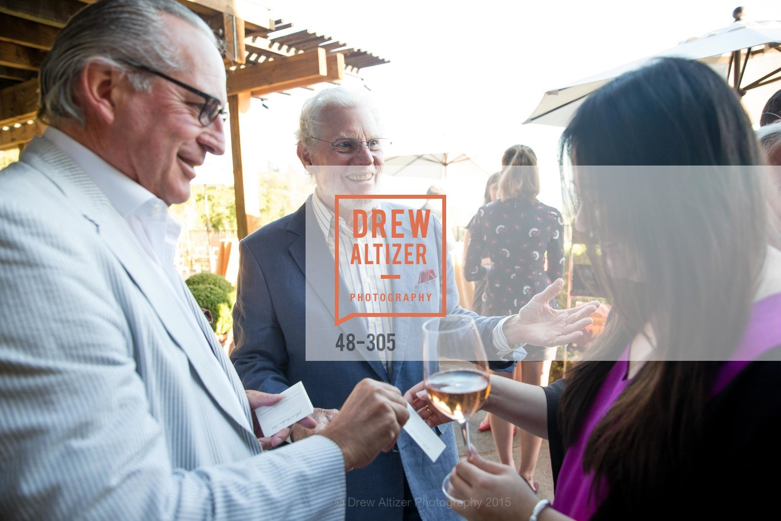 Gilles De Chambure, Bill Harlan, LE PAN Napa Valley Launch Cocktail Party, Auberge dr Soliel, September 22nd, 2015,Drew Altizer, Drew Altizer Photography, full-service event agency, private events, San Francisco photographer, photographer California