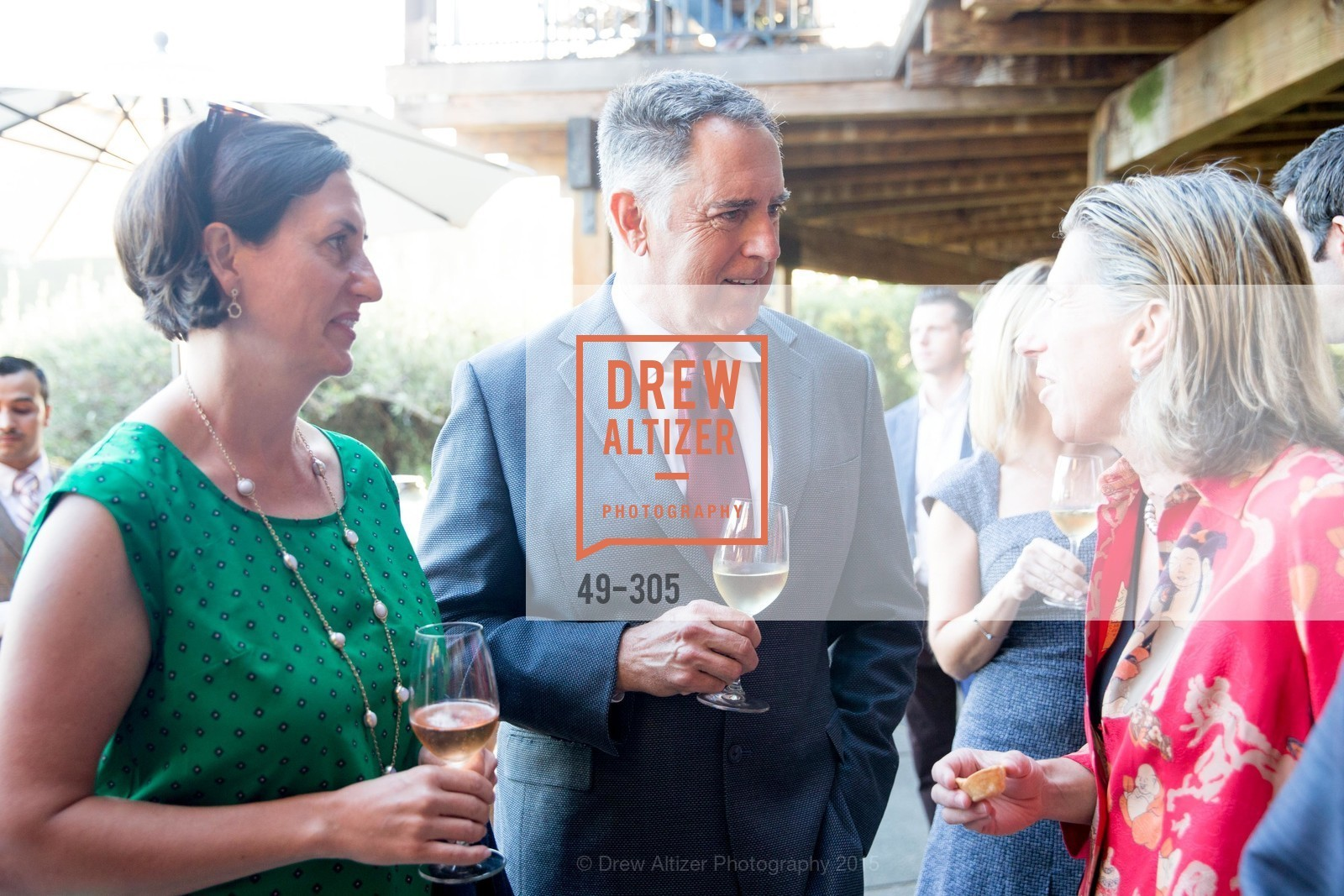 Linsey Gallagher, Lon Gallehger, LE PAN Napa Valley Launch Cocktail Party, Auberge dr Soliel, September 22nd, 2015