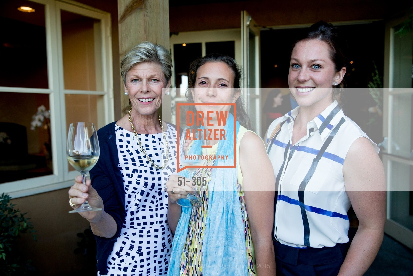 Deborah Harlan, Helene Mingot, Amanda Harlan, LE PAN Napa Valley Launch Cocktail Party, Auberge dr Soliel, September 22nd, 2015,Drew Altizer, Drew Altizer Photography, full-service agency, private events, San Francisco photographer, photographer california