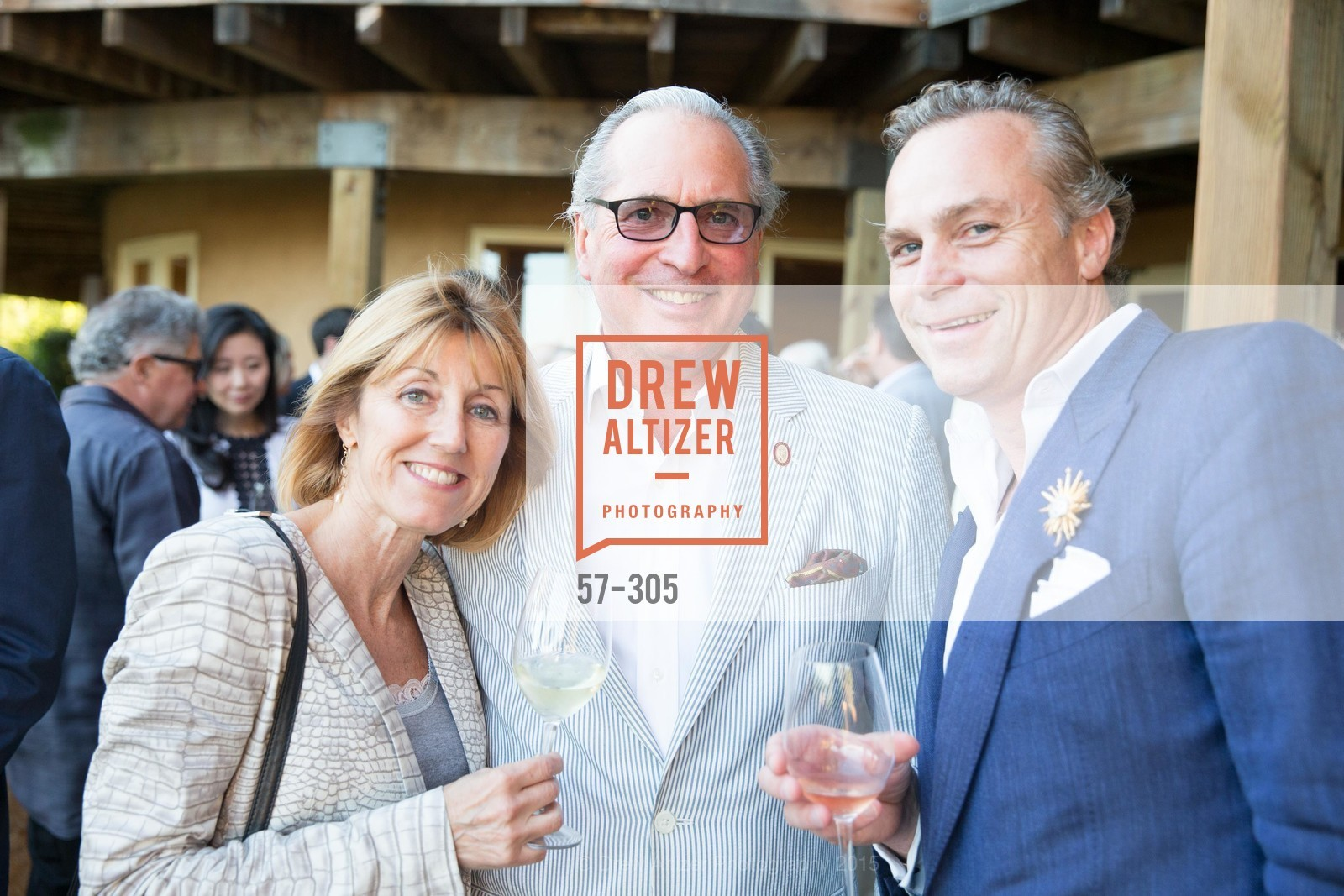 Delia Viader, Gilles De Chambure, Jean-Charles Boisset, LE PAN Napa Valley Launch Cocktail Party, Auberge dr Soliel, September 22nd, 2015,Drew Altizer, Drew Altizer Photography, full-service agency, private events, San Francisco photographer, photographer california