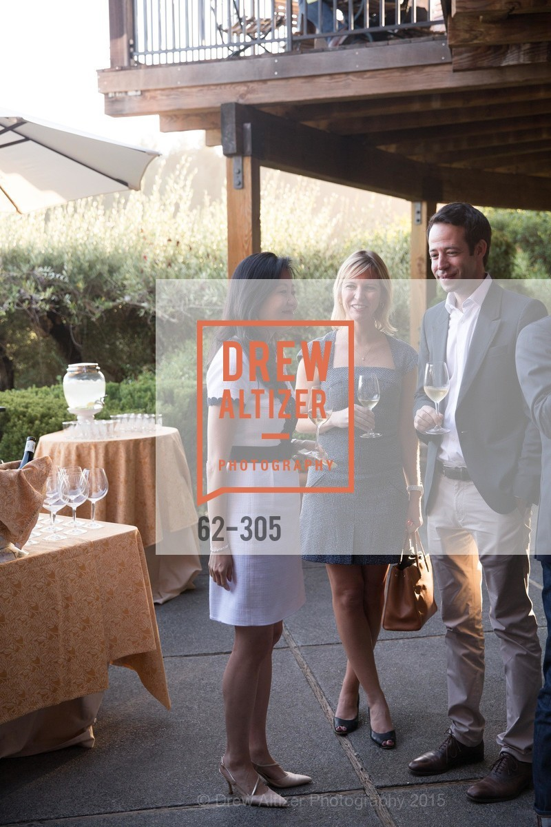 Jeannie Cho Lee MW, Betsy Reynard, Antoine Dommedieu, LE PAN Napa Valley Launch Cocktail Party, Auberge dr Soliel, September 22nd, 2015,Drew Altizer, Drew Altizer Photography, full-service agency, private events, San Francisco photographer, photographer california