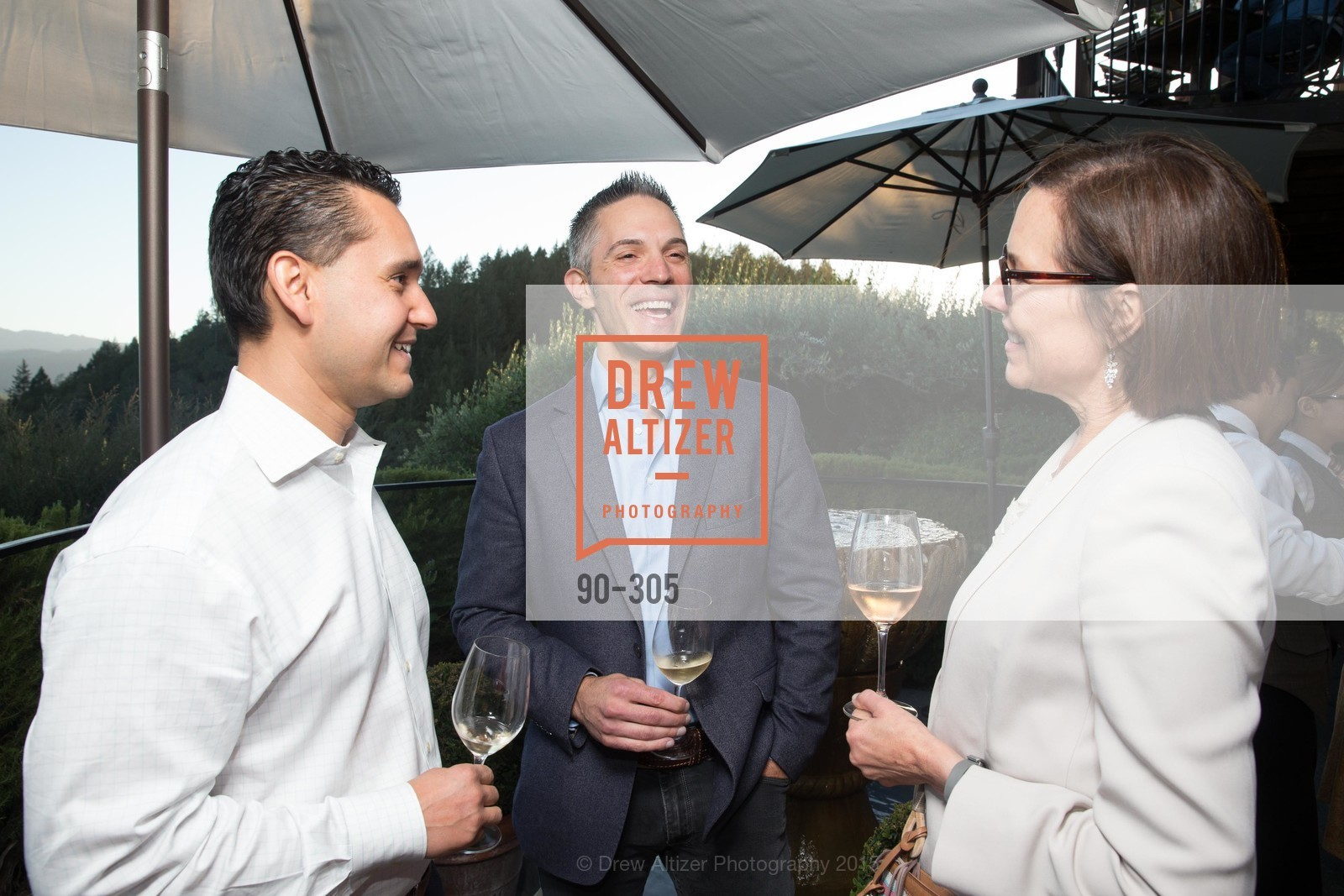 Desmond Echavarriv, Dennis Kelly, Ann Cogan, LE PAN Napa Valley Launch Cocktail Party, Auberge dr Soliel, September 22nd, 2015,Drew Altizer, Drew Altizer Photography, full-service agency, private events, San Francisco photographer, photographer california