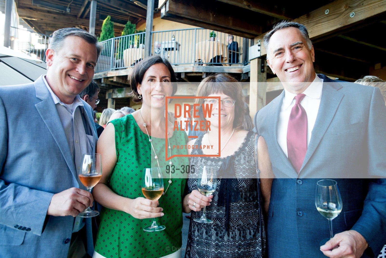 Steve Burns, Linsey Gallagher, Patsy McGaughy, Lon Gallagher, LE PAN Napa Valley Launch Cocktail Party, Auberge dr Soliel, September 22nd, 2015,Drew Altizer, Drew Altizer Photography, full-service agency, private events, San Francisco photographer, photographer california