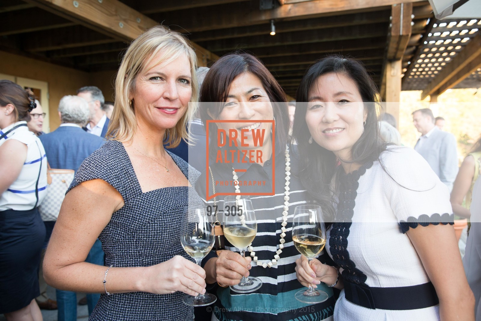 Betsy Reynard, Naoko Dalla Valle, Jeannie Cho Lee MW, LE PAN Napa Valley Launch Cocktail Party, Auberge dr Soliel, September 22nd, 2015,Drew Altizer, Drew Altizer Photography, full-service event agency, private events, San Francisco photographer, photographer California