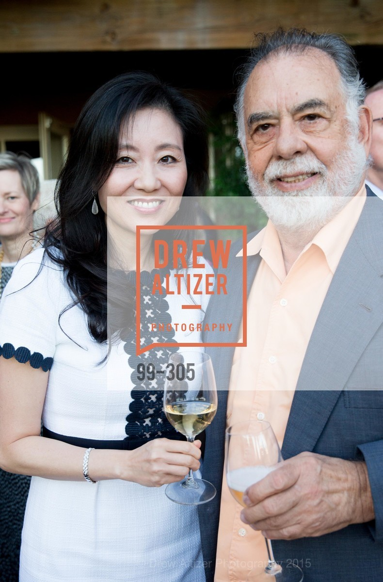Jeannie Cho Lee MW, Francis Ford Coppola, LE PAN Napa Valley Launch Cocktail Party, Auberge dr Soliel, September 22nd, 2015,Drew Altizer, Drew Altizer Photography, full-service agency, private events, San Francisco photographer, photographer california
