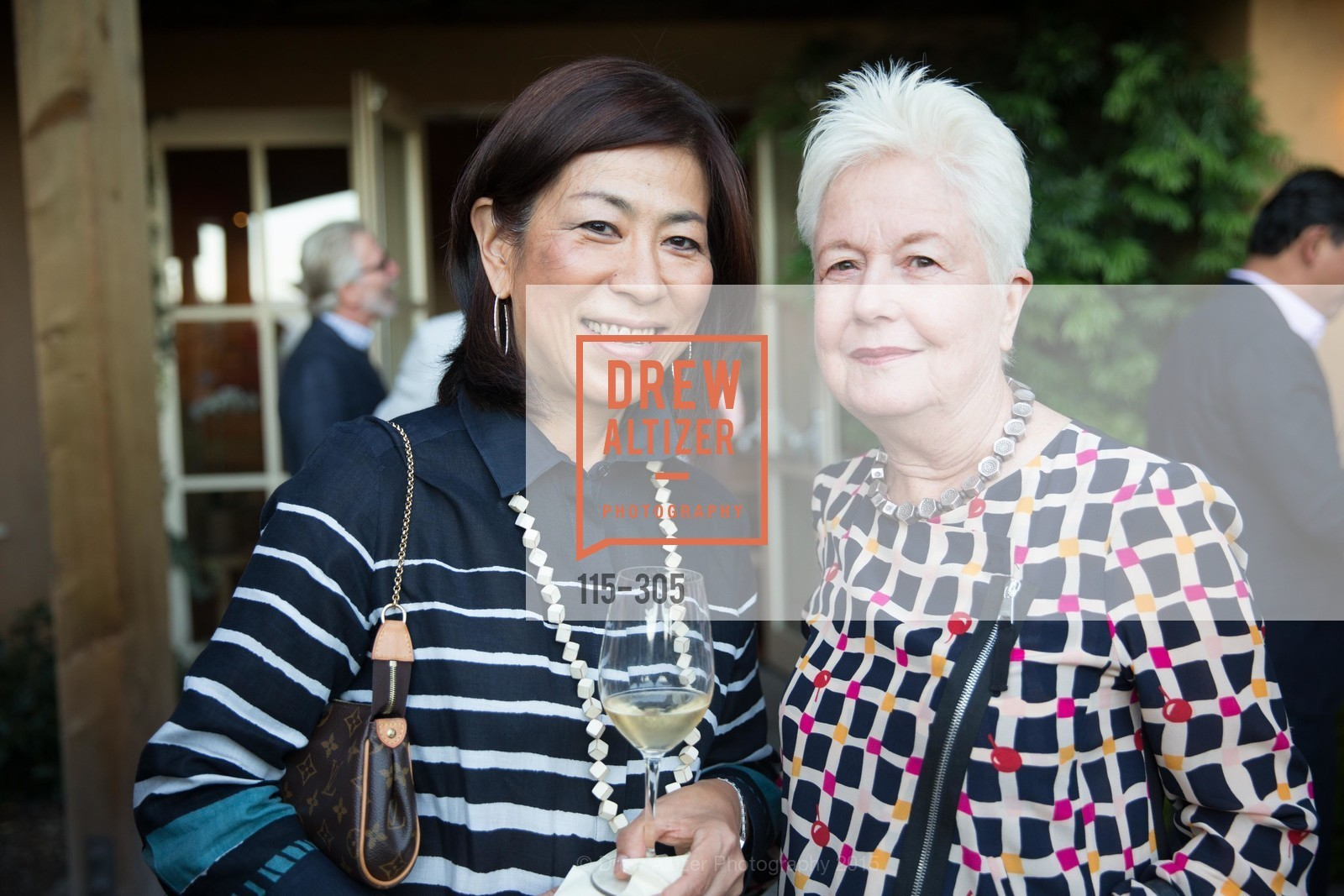 Naoko Dalla Valle, Eleonor Coppola, LE PAN Napa Valley Launch Cocktail Party, Auberge dr Soliel, September 22nd, 2015,Drew Altizer, Drew Altizer Photography, full-service agency, private events, San Francisco photographer, photographer california