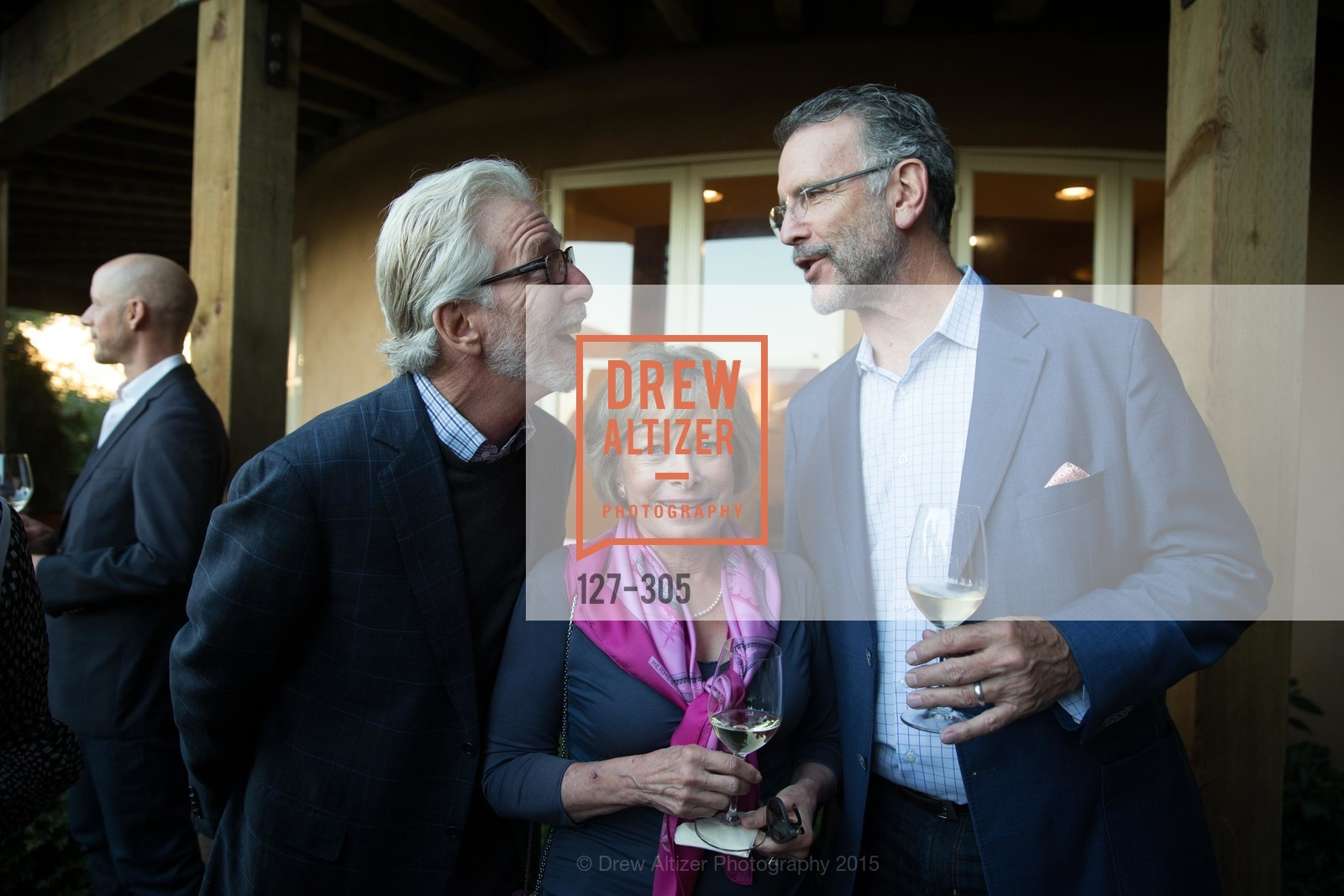 Tim Mondavi, Marcia Mondavi Borger, Don Weaver, LE PAN Napa Valley Launch Cocktail Party, Auberge dr Soliel, September 22nd, 2015,Drew Altizer, Drew Altizer Photography, full-service agency, private events, San Francisco photographer, photographer california