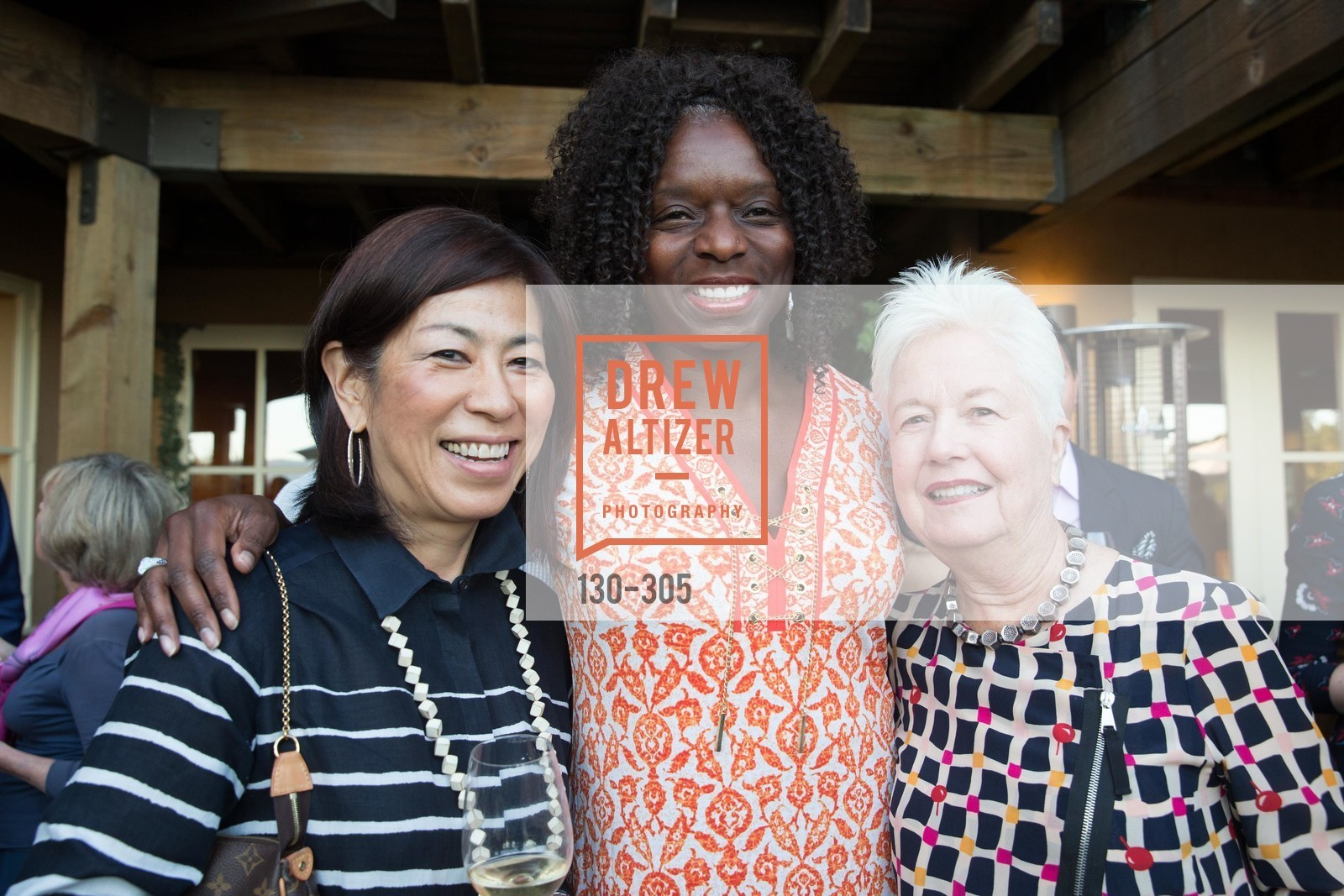 Naoko Dalla Valle, Kelly Carter, Eleonor Coppola, LE PAN Napa Valley Launch Cocktail Party, Auberge dr Soliel, September 22nd, 2015,Drew Altizer, Drew Altizer Photography, full-service agency, private events, San Francisco photographer, photographer california