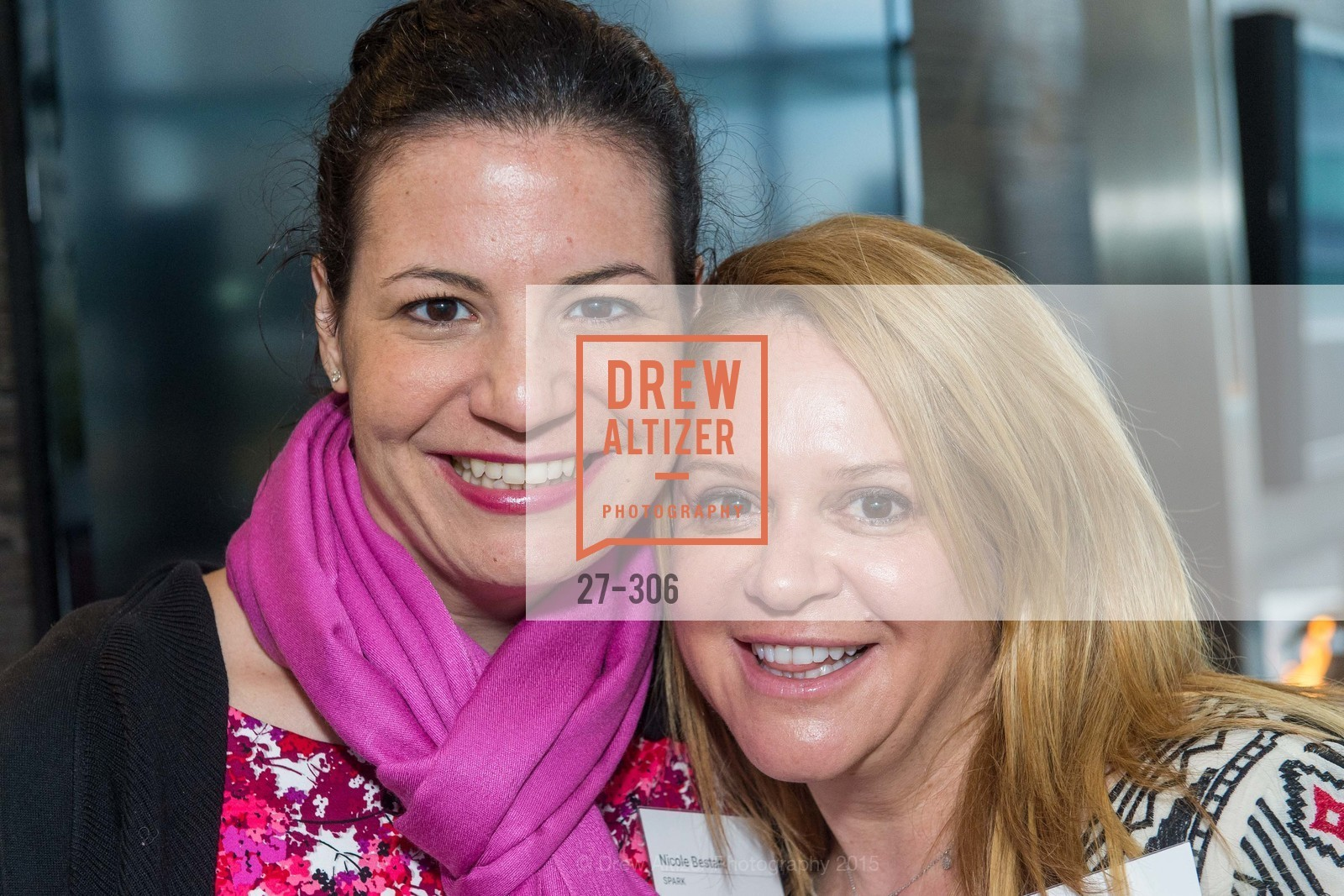 Nicole Bestard, Donna Burke, Sparkpr's Annual Rooftop Soirée, The Battery Penthouse, September 22nd, 2015,Drew Altizer, Drew Altizer Photography, full-service agency, private events, San Francisco photographer, photographer california