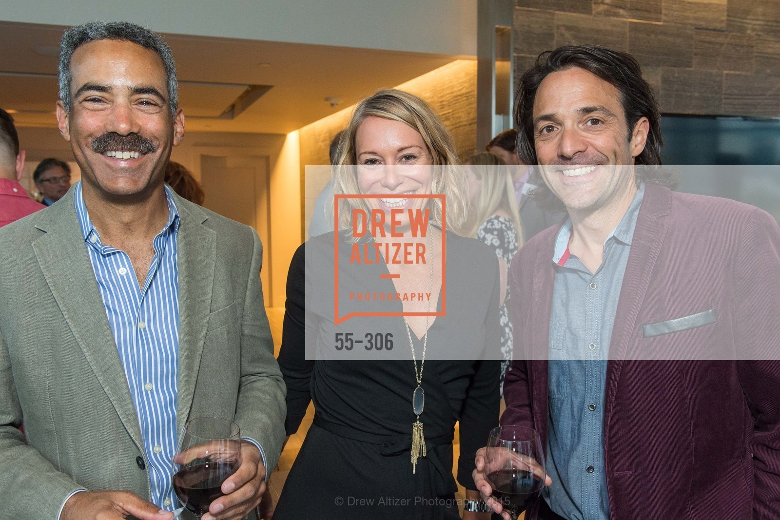 Jeff Thomas, Mary Magnani, Michael Celiceo, Sparkpr's Annual Rooftop Soirée, The Battery Penthouse, September 22nd, 2015