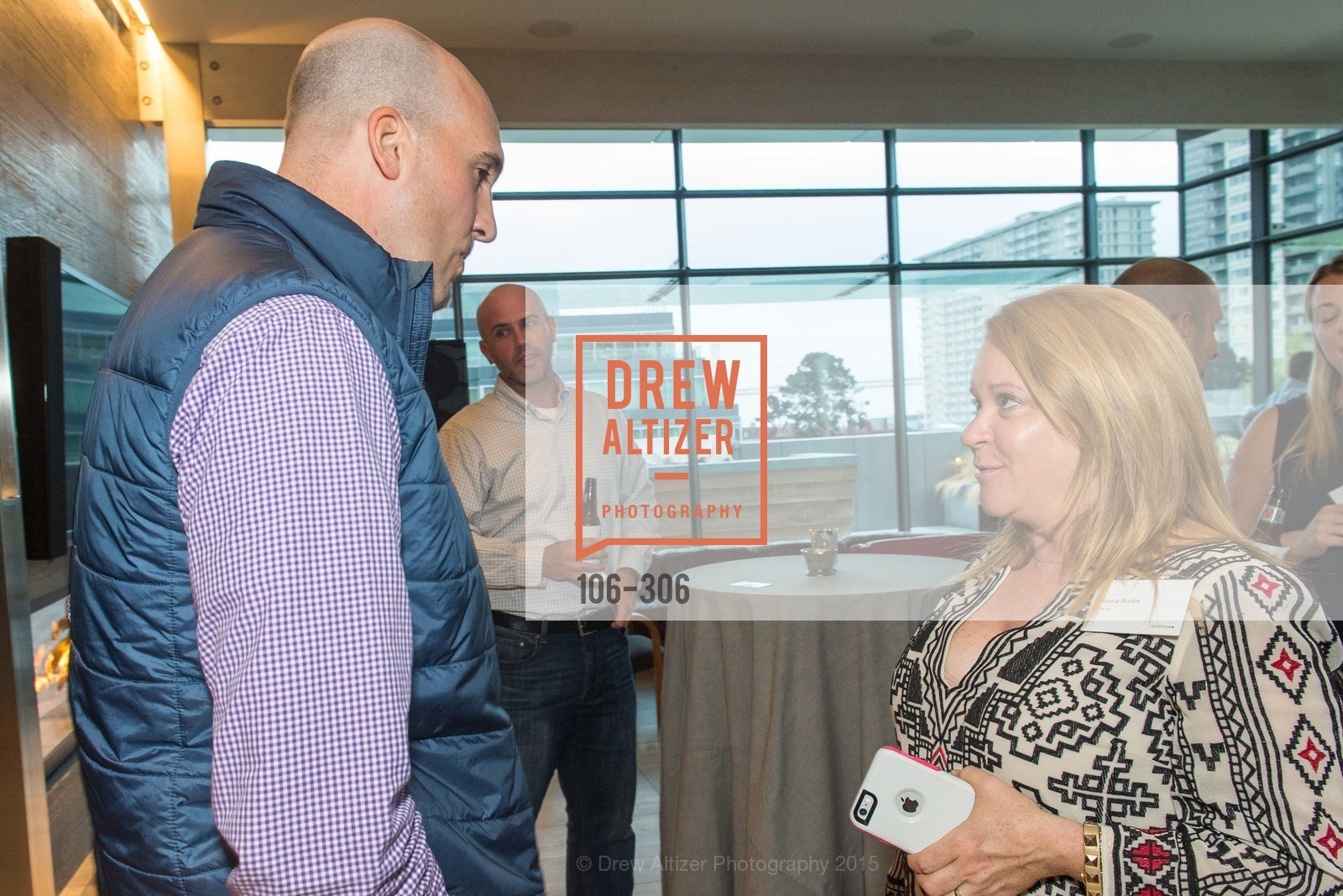 David Famolari, Donna Burke, Sparkpr's Annual Rooftop Soirée, The Battery Penthouse, September 22nd, 2015,Drew Altizer, Drew Altizer Photography, full-service agency, private events, San Francisco photographer, photographer california