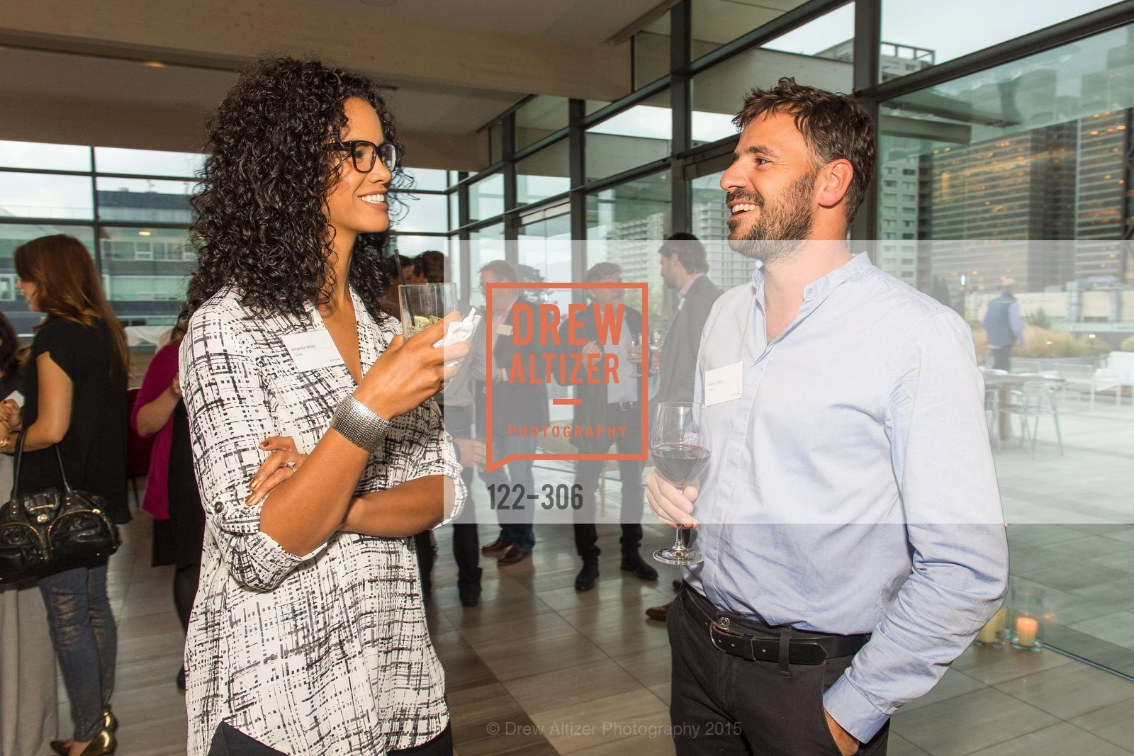 Amanda Wiley, David Loury, Sparkpr's Annual Rooftop Soirée, The Battery Penthouse, September 22nd, 2015,Drew Altizer, Drew Altizer Photography, full-service agency, private events, San Francisco photographer, photographer california