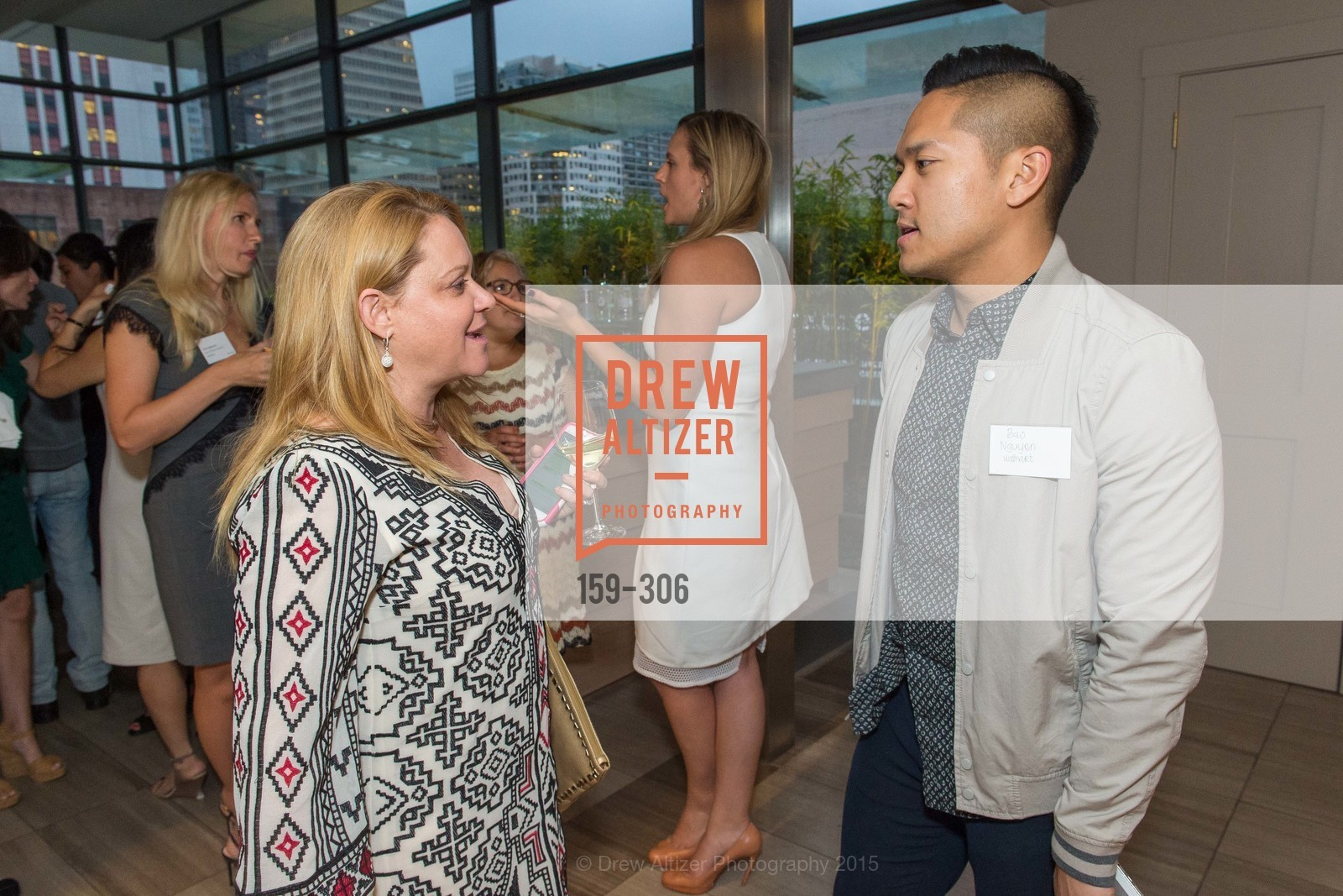 Donna Burke, Bao Nguyen, Sparkpr's Annual Rooftop Soirée, The Battery Penthouse, September 22nd, 2015,Drew Altizer, Drew Altizer Photography, full-service agency, private events, San Francisco photographer, photographer california