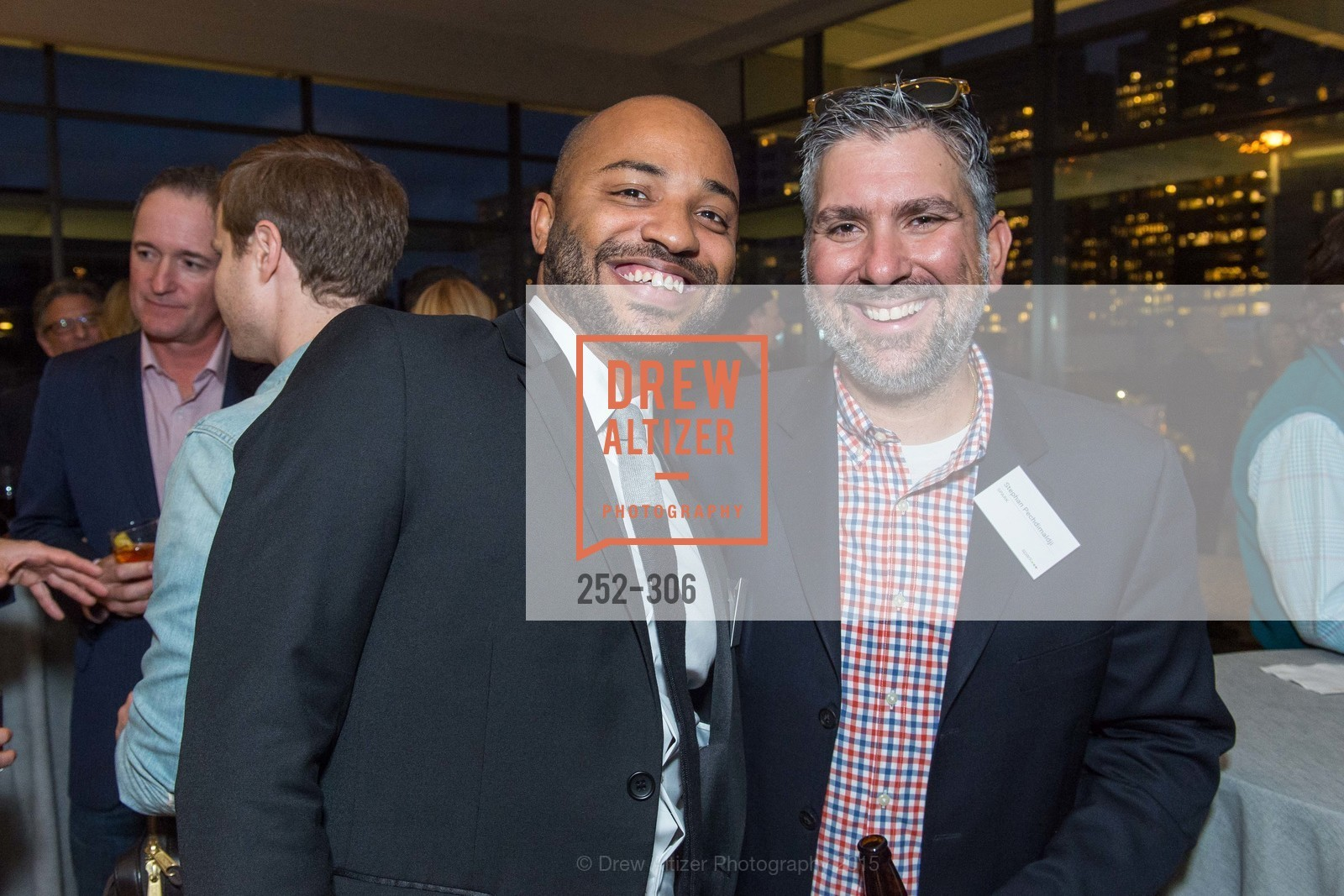 Antonio Hicks, Stephan Pechdimaldji, Sparkpr's Annual Rooftop Soirée, The Battery Penthouse, September 22nd, 2015,Drew Altizer, Drew Altizer Photography, full-service agency, private events, San Francisco photographer, photographer california