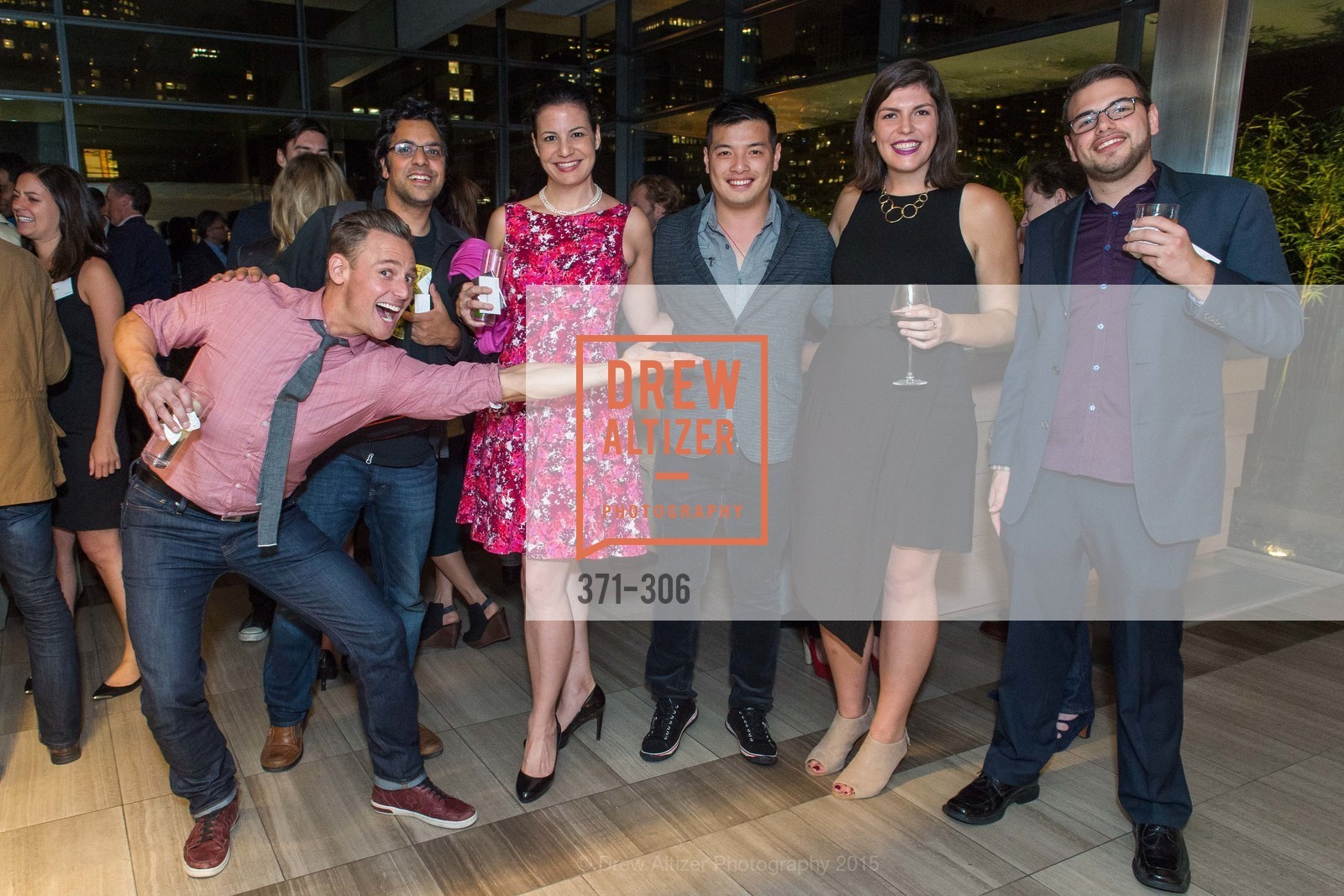 Brett van Sledright, Akshay Sawhney, Nicole Bestard, Hank Rao, Kelsey Axelrod, Anthony Sconza, Sparkpr's Annual Rooftop Soirée, The Battery Penthouse, September 22nd, 2015,Drew Altizer, Drew Altizer Photography, full-service agency, private events, San Francisco photographer, photographer california