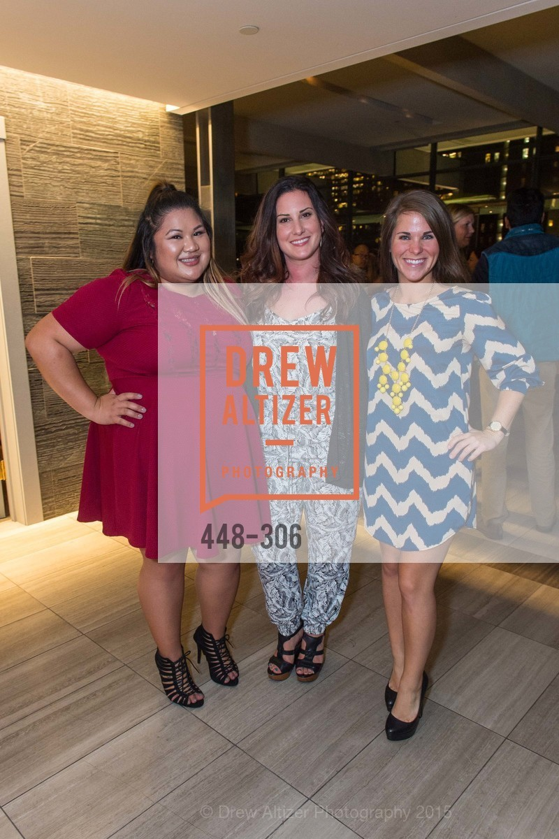 Rosemary Andres, Alexa Alioto, Cristina Dunning, Sparkpr's Annual Rooftop Soirée, The Battery Penthouse, September 22nd, 2015,Drew Altizer, Drew Altizer Photography, full-service agency, private events, San Francisco photographer, photographer california