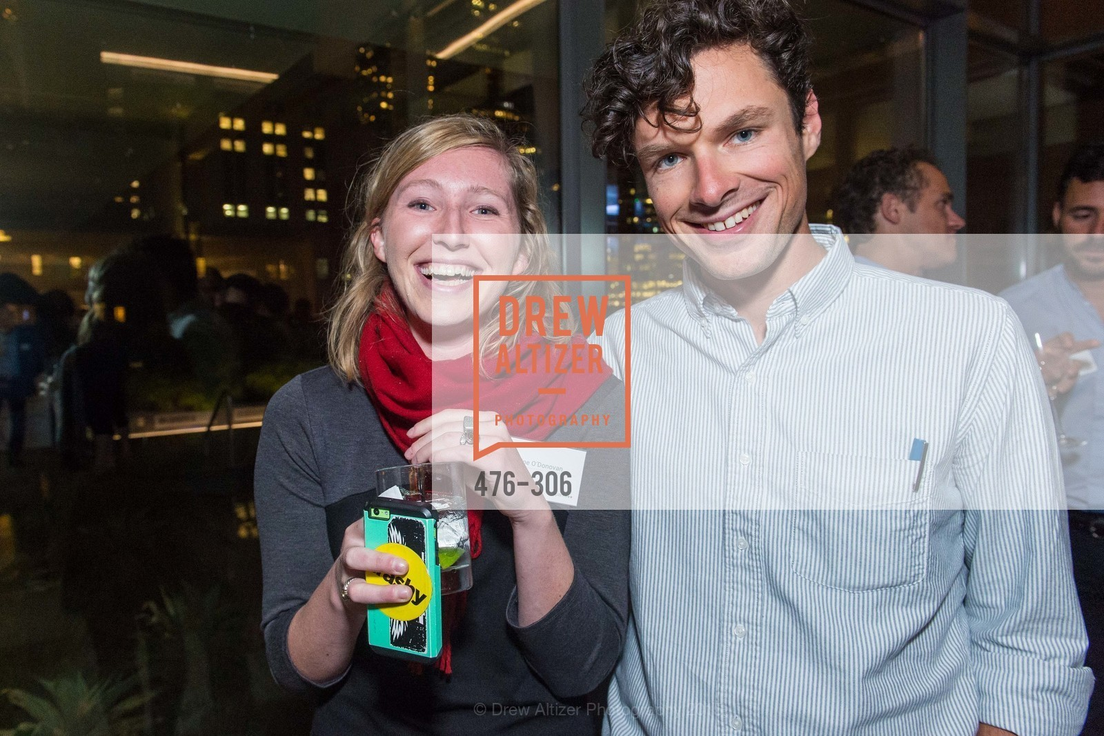 Anne O'Donovan, Nick Schuetz, Sparkpr's Annual Rooftop Soirée, The Battery Penthouse, September 22nd, 2015,Drew Altizer, Drew Altizer Photography, full-service agency, private events, San Francisco photographer, photographer california