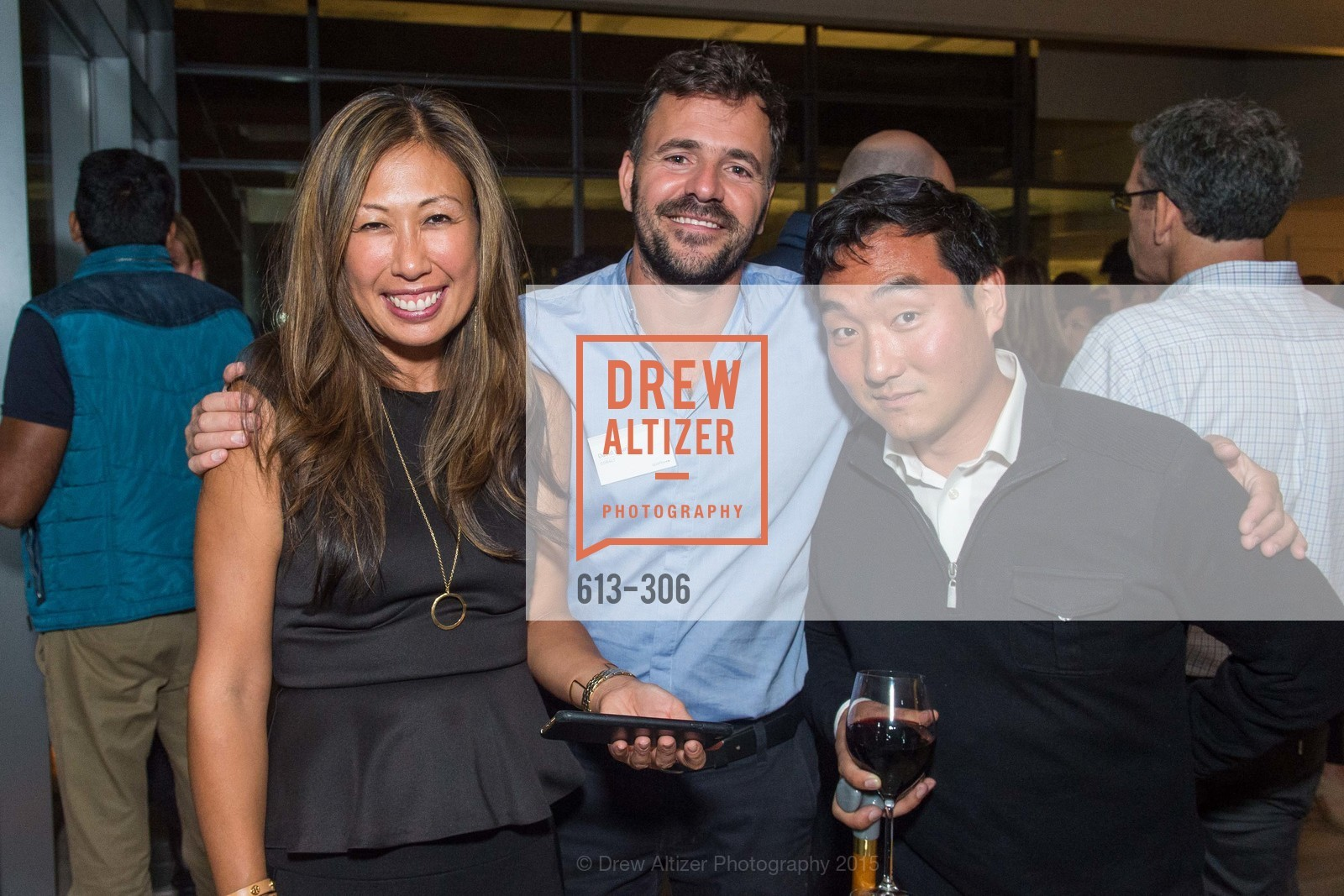 Joy Boatwright, David Loury, Sparkpr's Annual Rooftop Soirée, The Battery Penthouse, September 22nd, 2015,Drew Altizer, Drew Altizer Photography, full-service agency, private events, San Francisco photographer, photographer california
