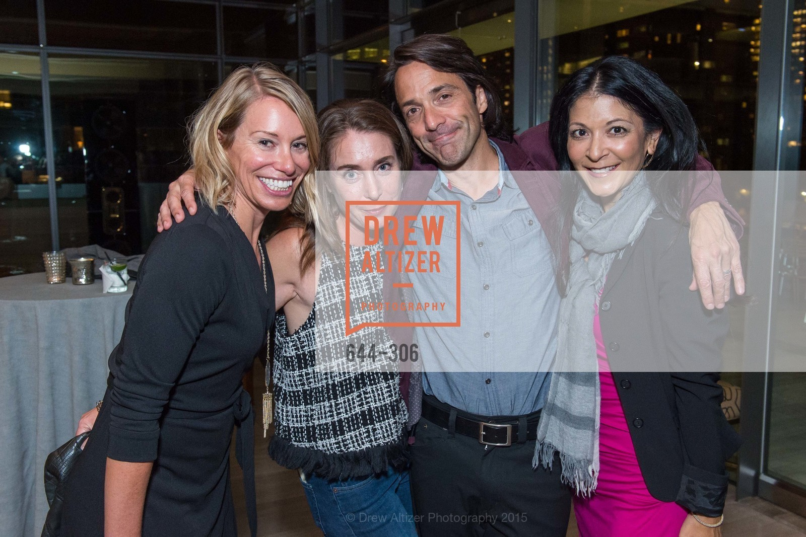 Mary Magnani, Kirsten Maynard, Michael Celiceo, Midori Lawler, Sparkpr's Annual Rooftop Soirée, The Battery Penthouse, September 22nd, 2015,Drew Altizer, Drew Altizer Photography, full-service agency, private events, San Francisco photographer, photographer california