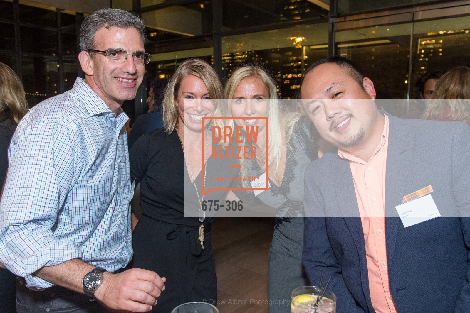 Sylan Tweeney, Mary Magnani, Gina Bauman, Jeffrey Koo, Sparkpr's Annual Rooftop Soirée, The Battery Penthouse, September 22nd, 2015,Drew Altizer, Drew Altizer Photography, full-service agency, private events, San Francisco photographer, photographer california