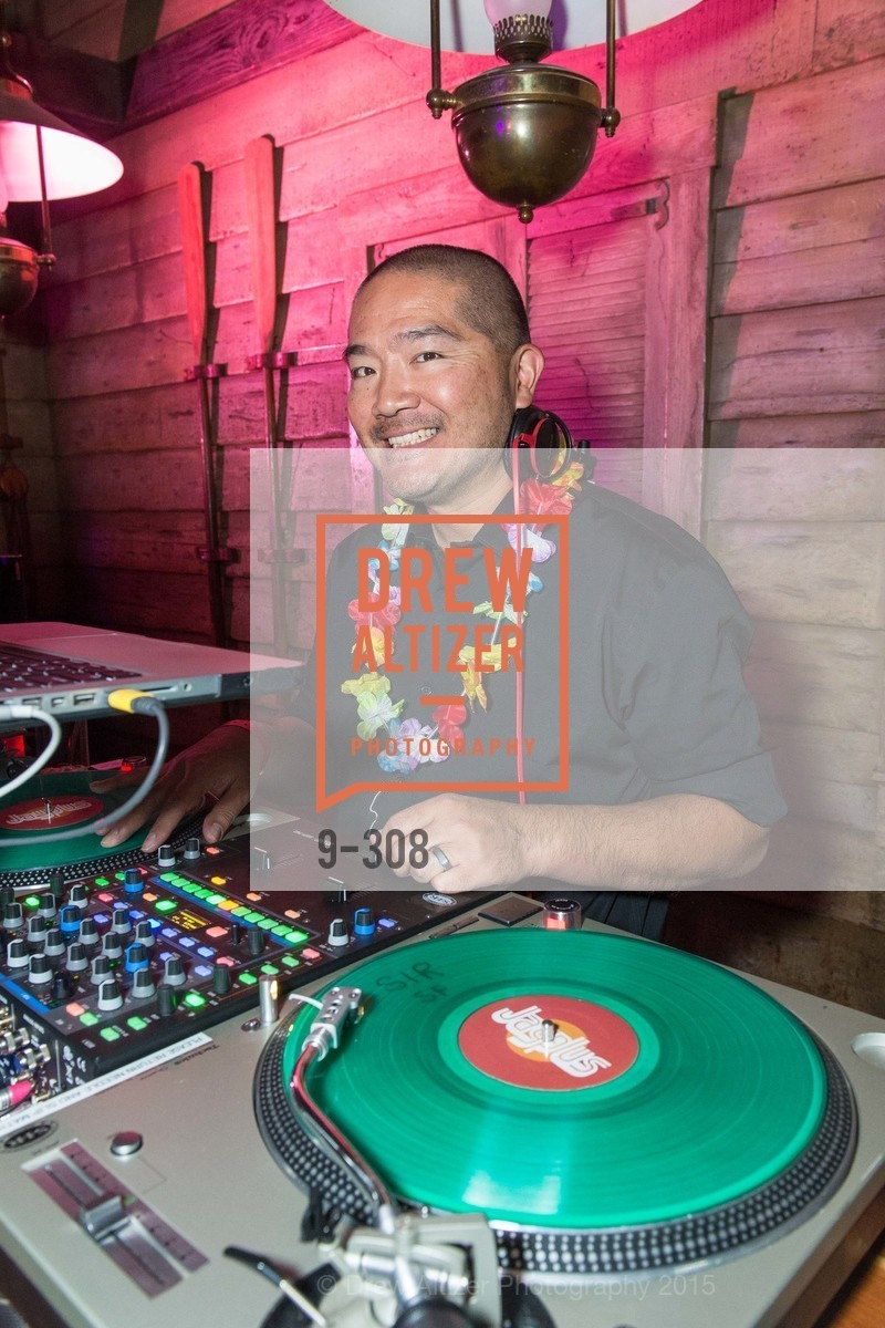 Dj, Tonga Room & Hurricane Bar Celebrates 70 Years of Tiki Glory, Fairmont, September 23rd, 2015,Drew Altizer, Drew Altizer Photography, full-service agency, private events, San Francisco photographer, photographer california