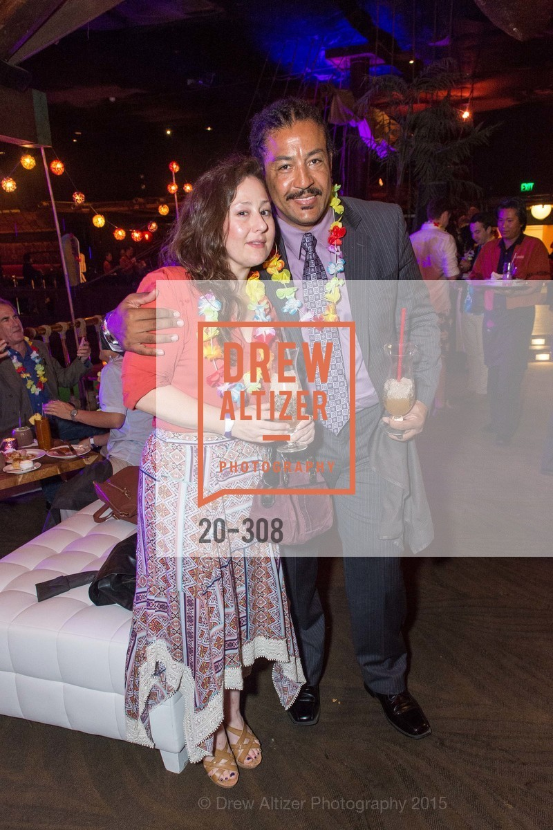 Carly Wheedon, Jack Thompson, Tonga Room & Hurricane Bar Celebrates 70 Years of Tiki Glory, Fairmont, September 23rd, 2015,Drew Altizer, Drew Altizer Photography, full-service agency, private events, San Francisco photographer, photographer california