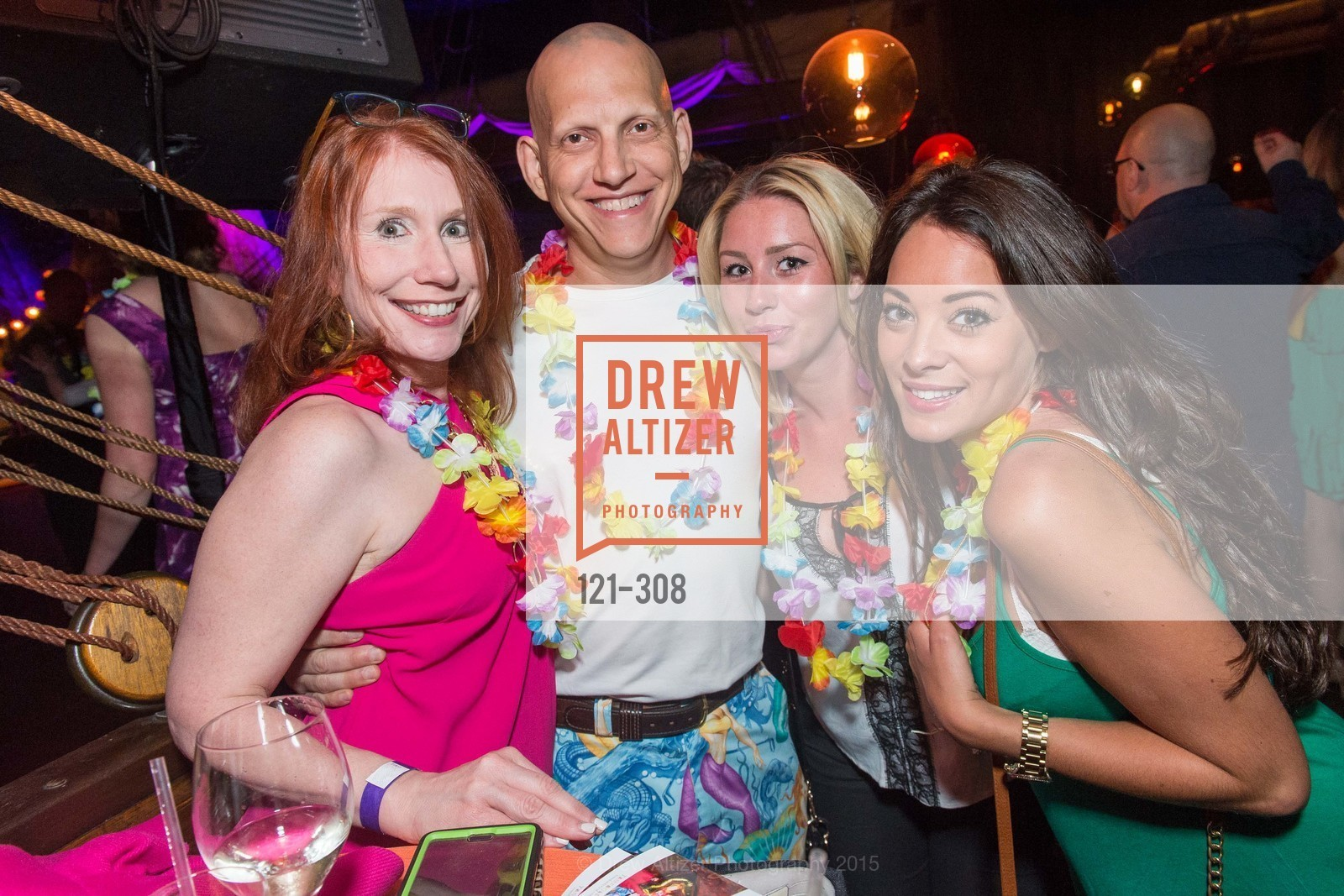 Suzanne Kushner, Aaron Kushner, Tonga Room & Hurricane Bar Celebrates 70 Years of Tiki Glory, Fairmont, September 23rd, 2015,Drew Altizer, Drew Altizer Photography, full-service agency, private events, San Francisco photographer, photographer california