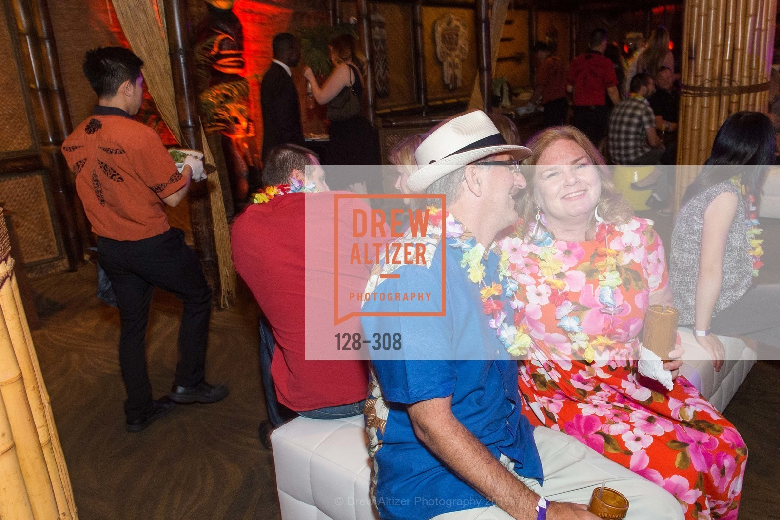 Kevin Rockwell, Karen Lodder, Tonga Room & Hurricane Bar Celebrates 70 Years of Tiki Glory, Fairmont, September 23rd, 2015,Drew Altizer, Drew Altizer Photography, full-service agency, private events, San Francisco photographer, photographer california